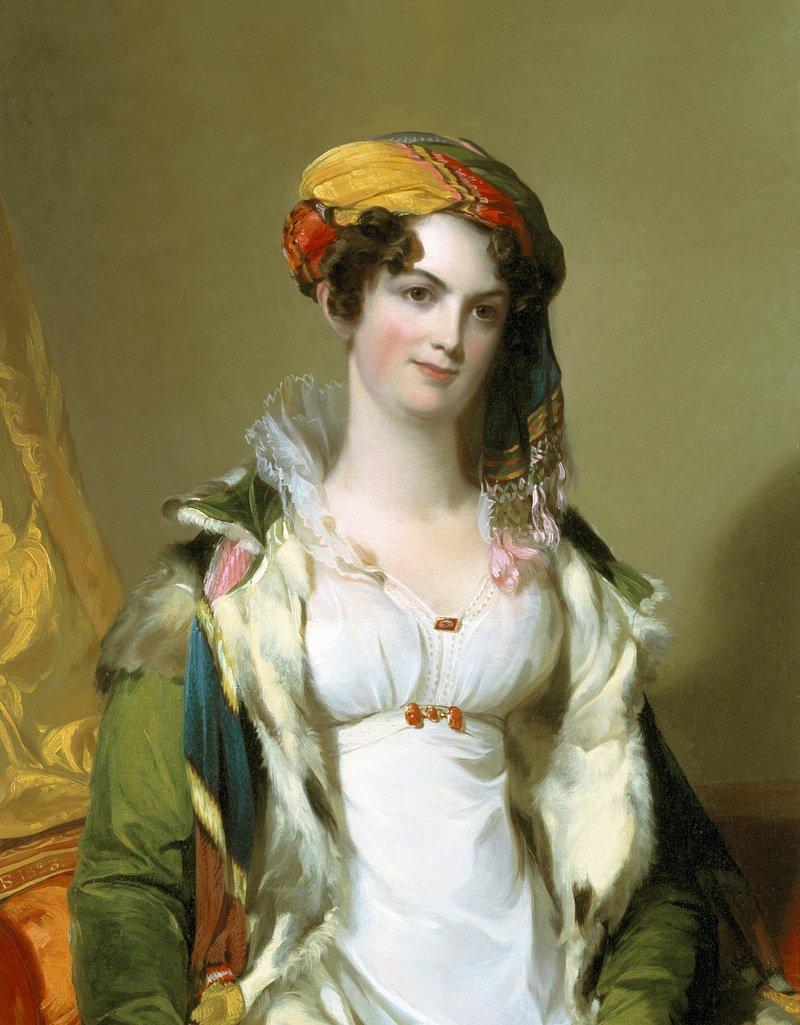 Томас Салли, миссис Роберт Гилмор-младший (Сара Рив Ладсон), 1823 г., холст, масло.jpg
