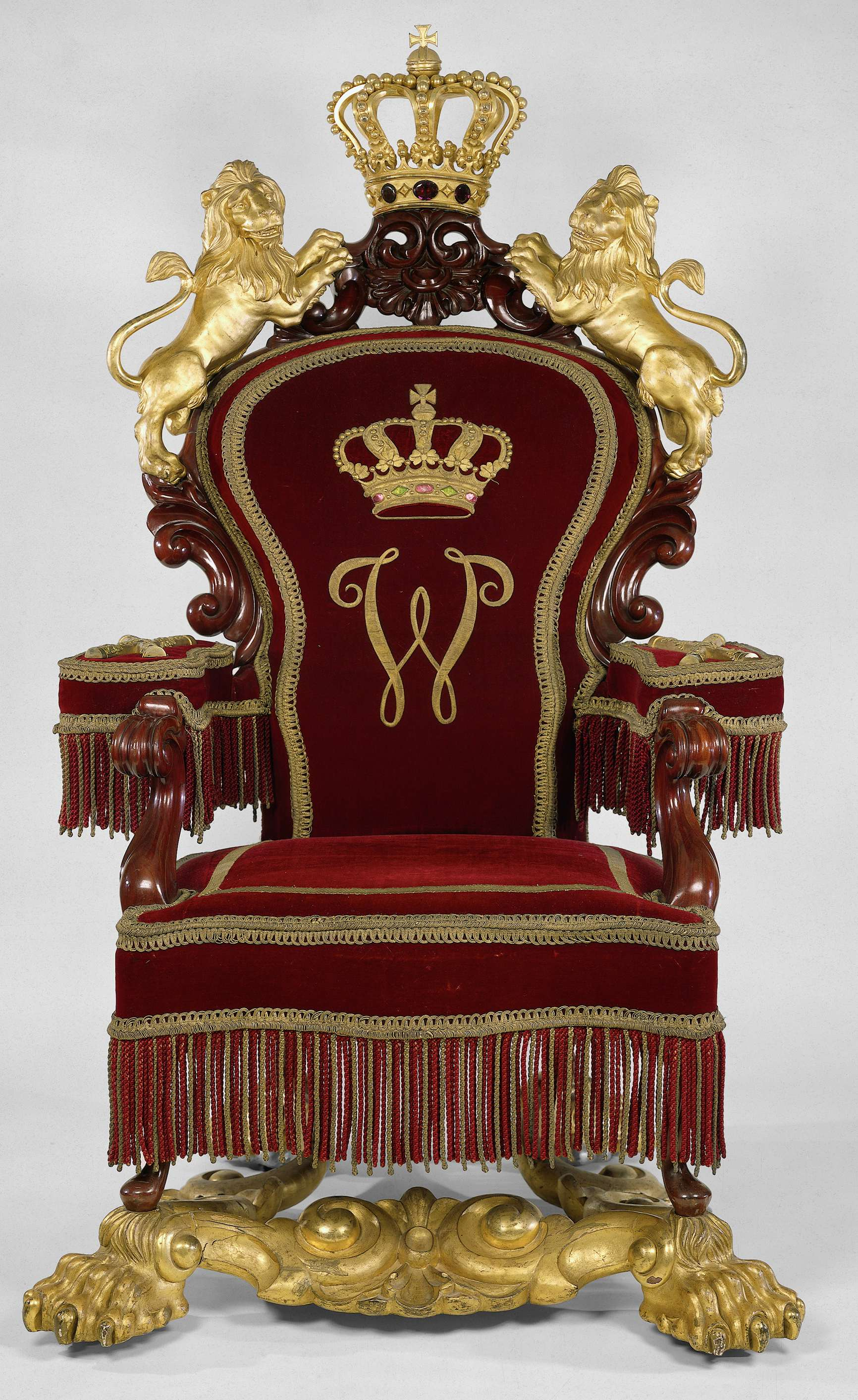 File:Throne Of Kings William II, William III And Of Queen Wilhelmina Of The
