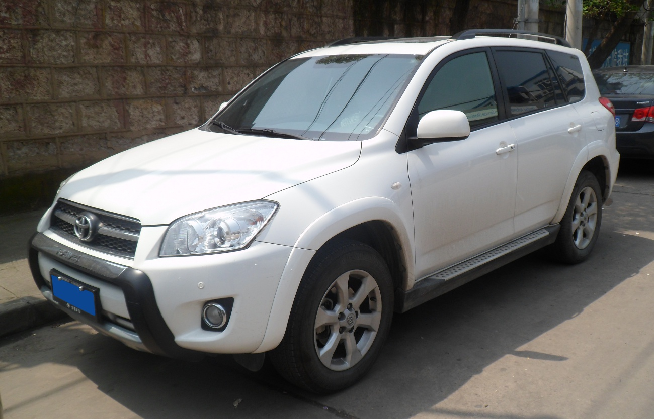 Toyota Rav4 Front China