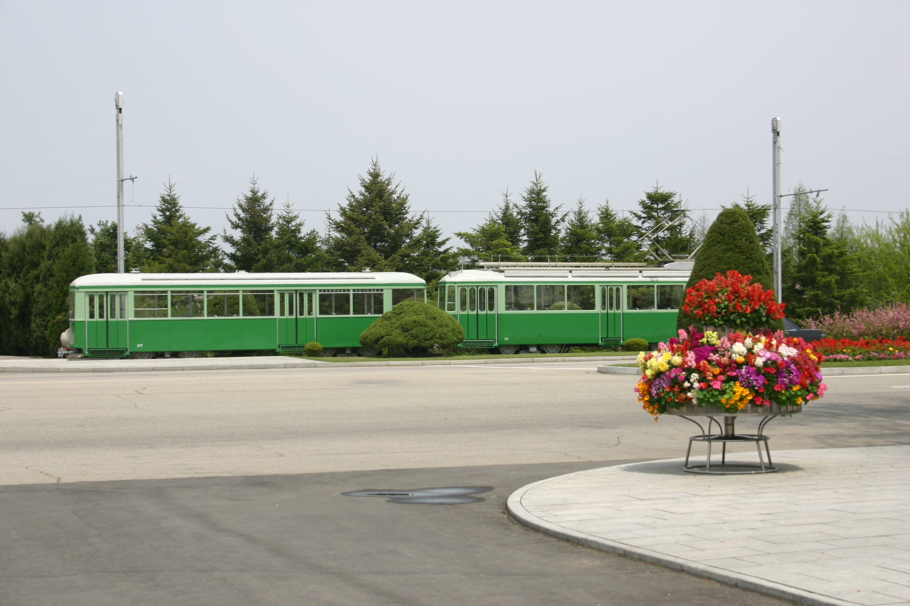 Tram North Korea PY