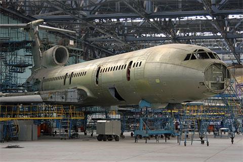 Постройка Ту-154 для МО РФ,