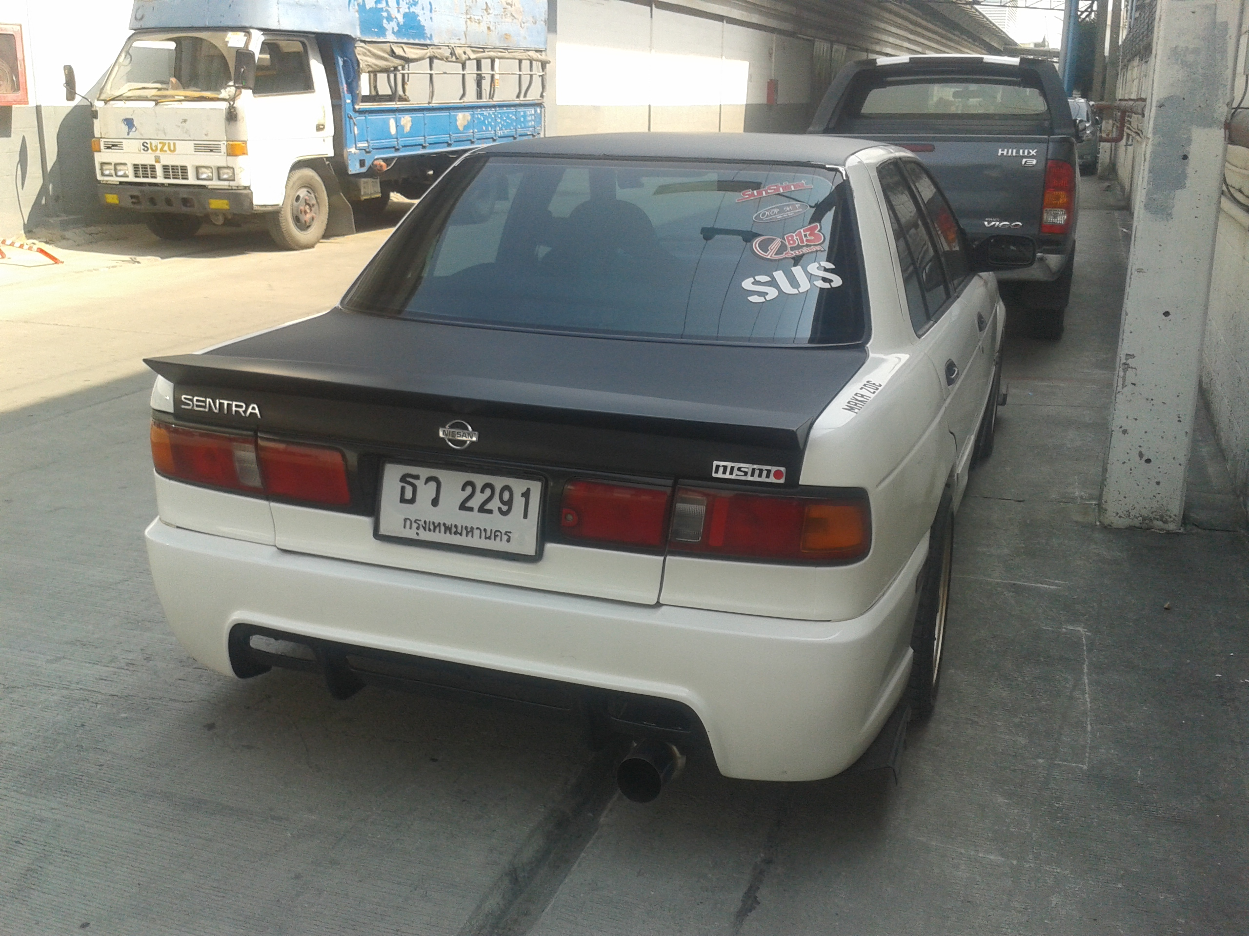 File:Tuned Nissan Sentra (B13) in Thailand 07 jpg - Wikimedia Commons