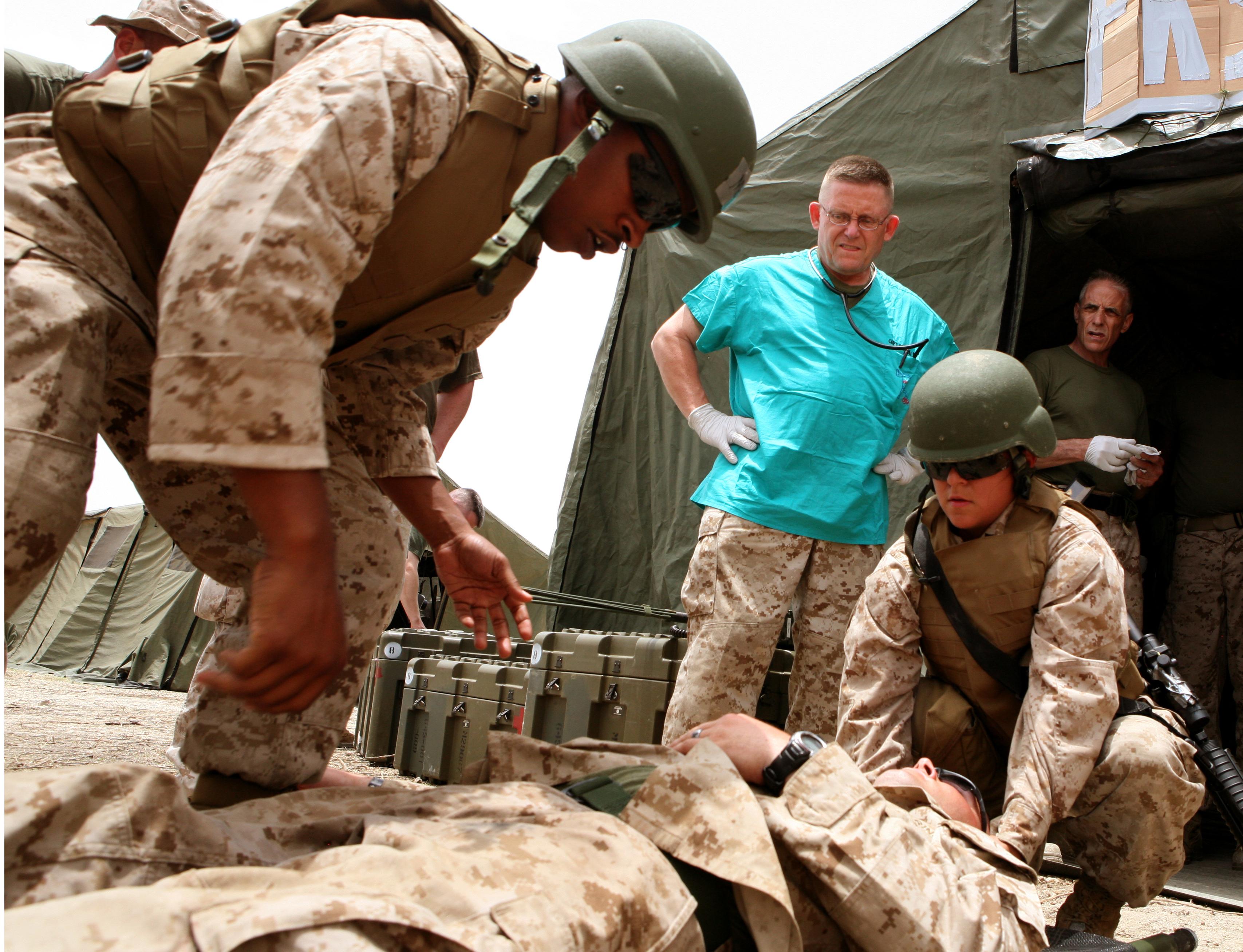 File:U.S. Marine Corps Sgt. Jasmine Schlegel and Cpl. Donald J ...