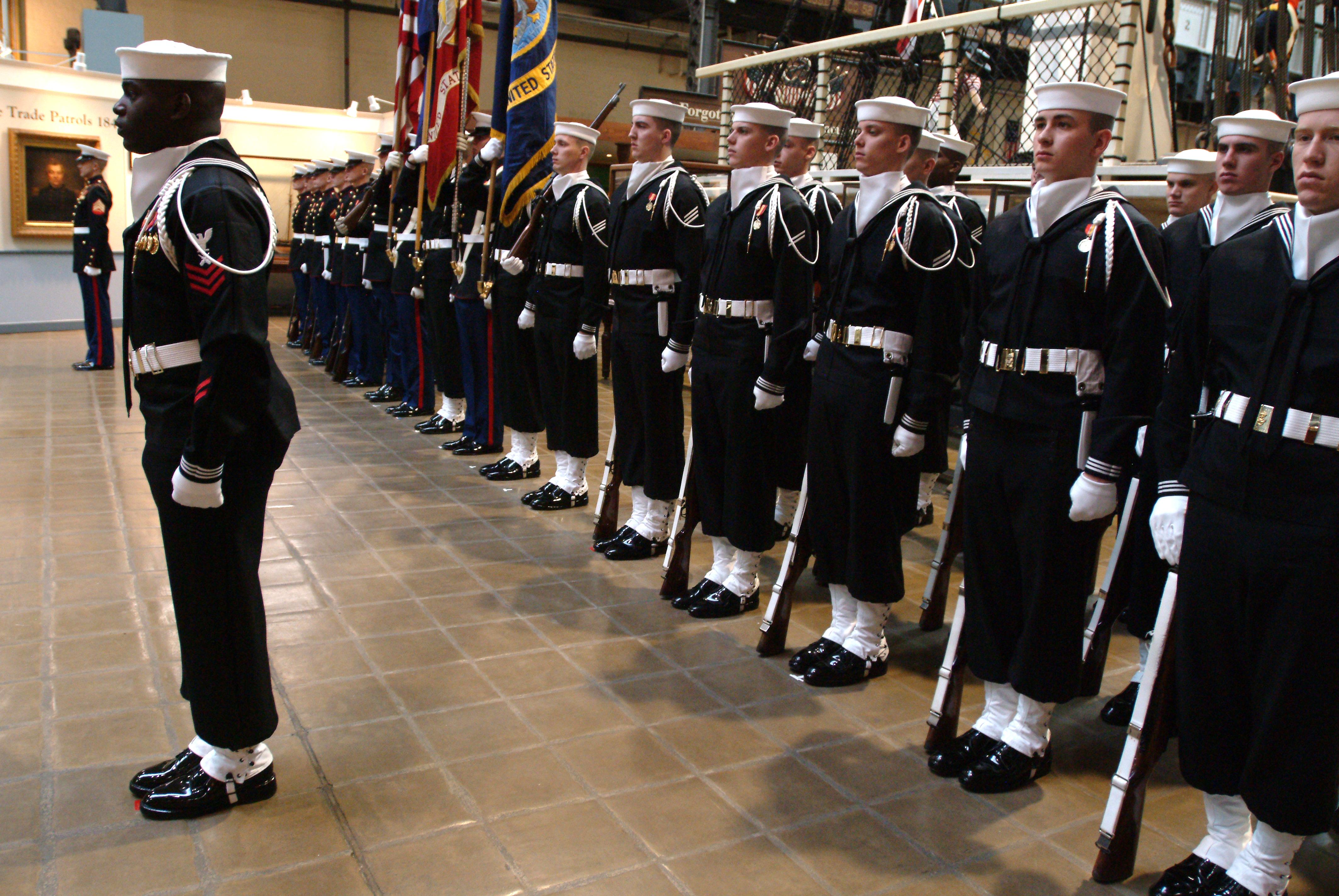 Fileus Navy 040226 N 2383b 038 Us Navy Ceremonial Guard Sailors - Us-navy-ceremonial-guard