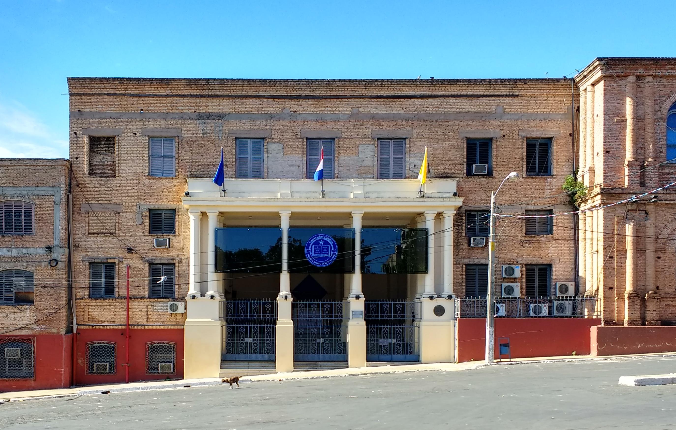Universidad Católica Nuestra Señora De La Asunción Wikipedia La Enciclopedia Libre