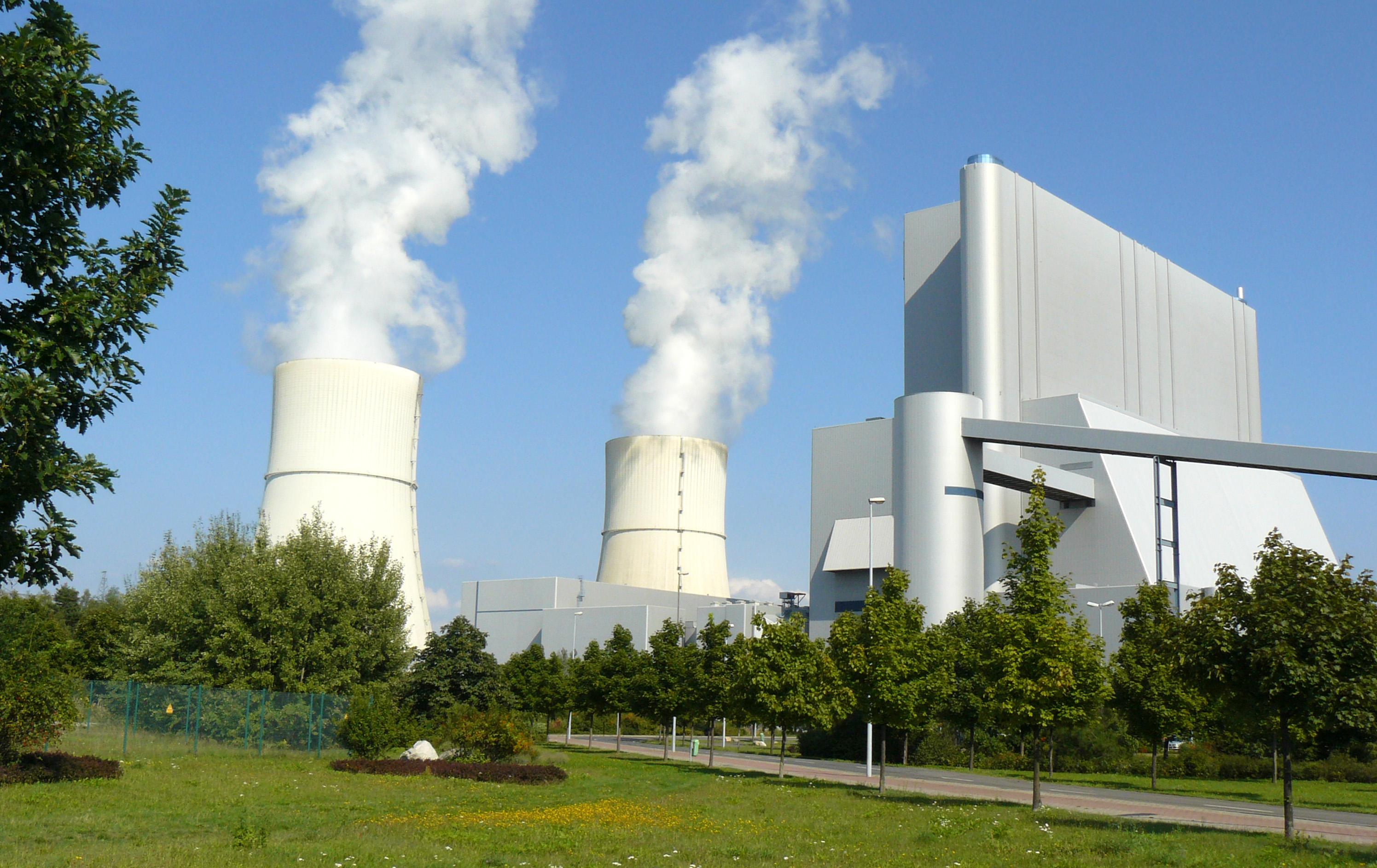 Germany Lusatia Plant Schwarze Pumpe