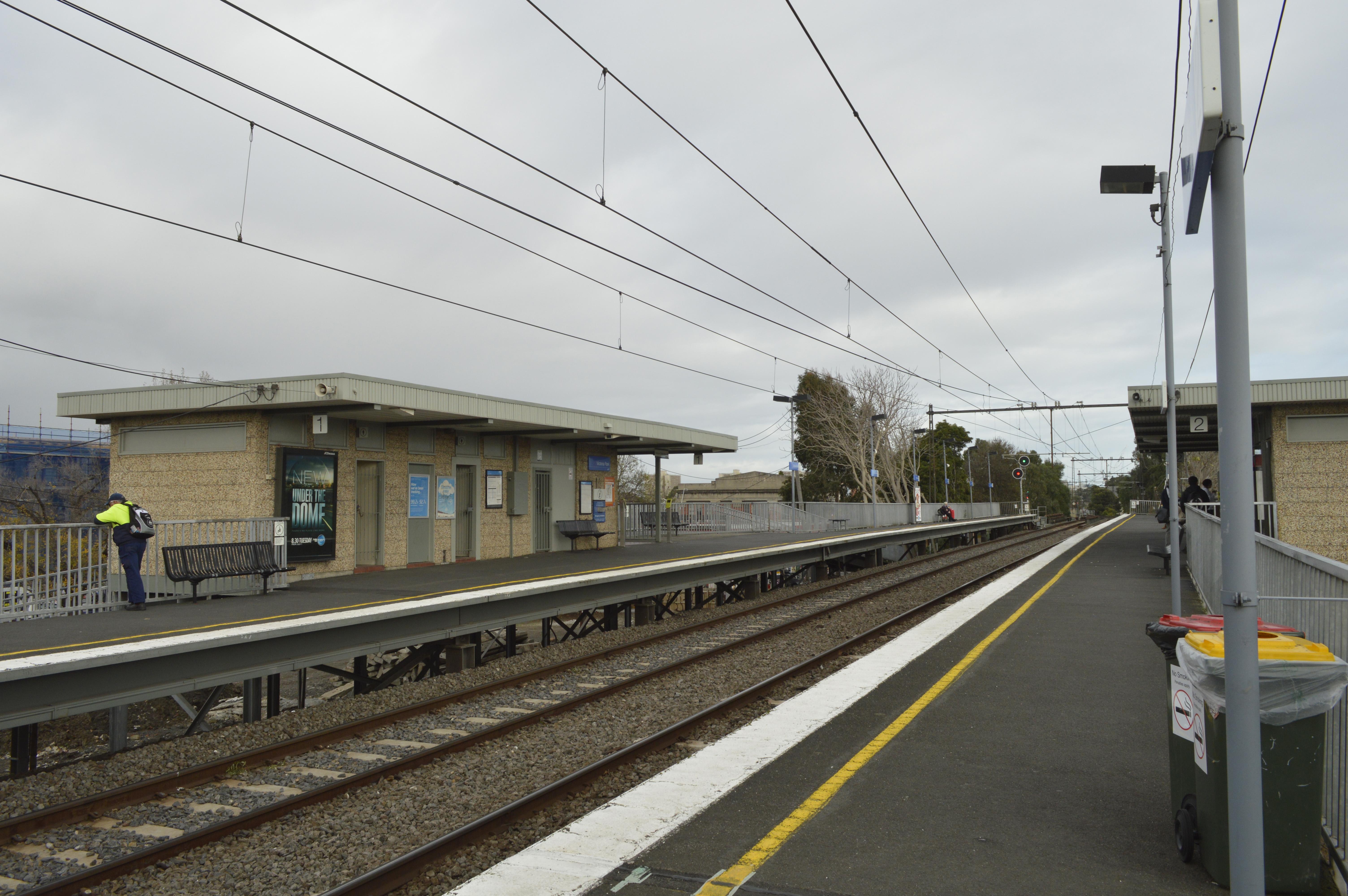 Victoria Park Railway Station Melbourne Wikipedia