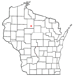 Location of Prentice (town), Wisconsin