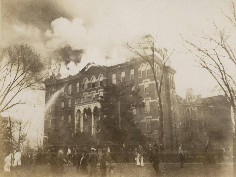 Wesley Hall fire 19 Feb 1932