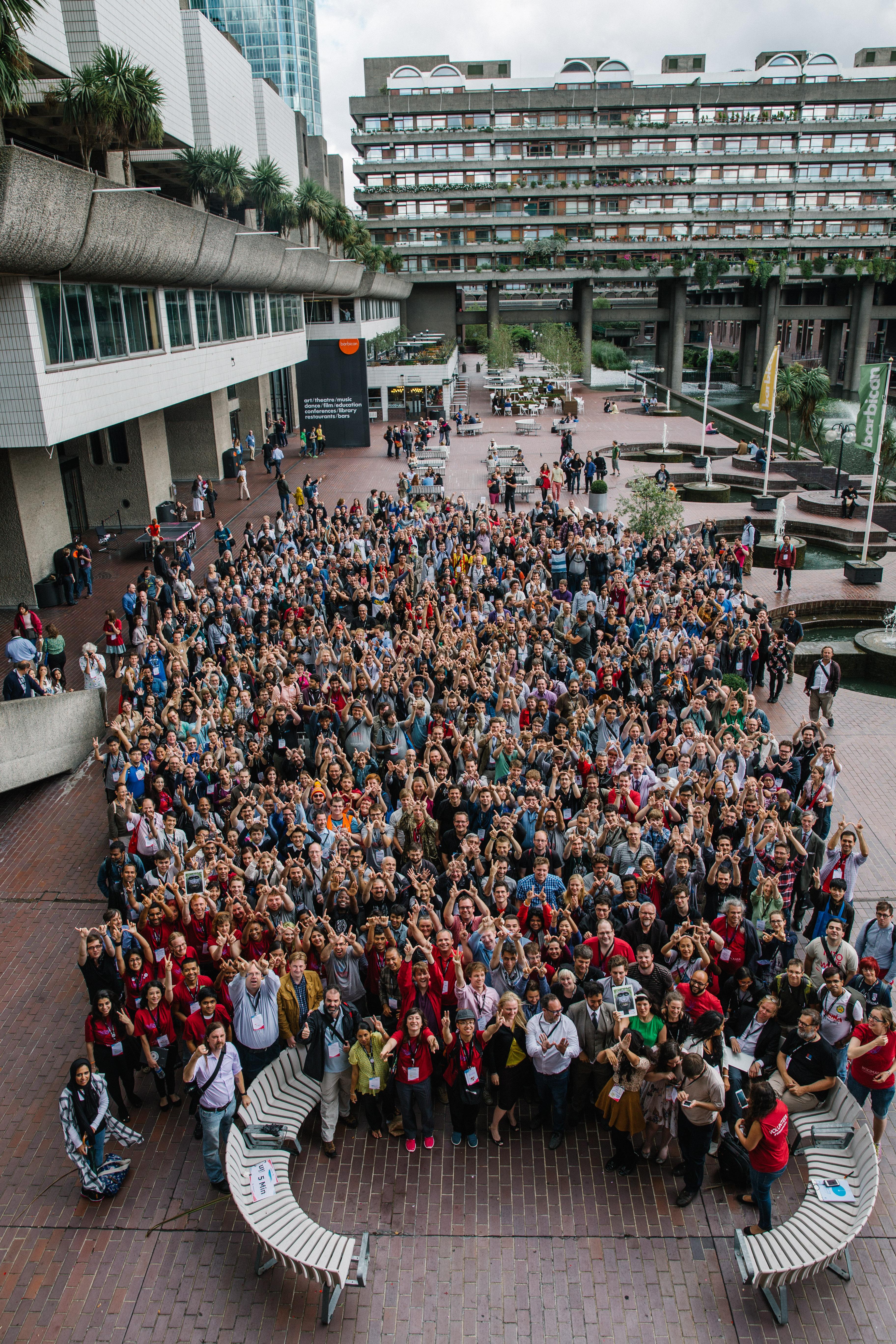 Todos los asistentes a Wikimania 2014