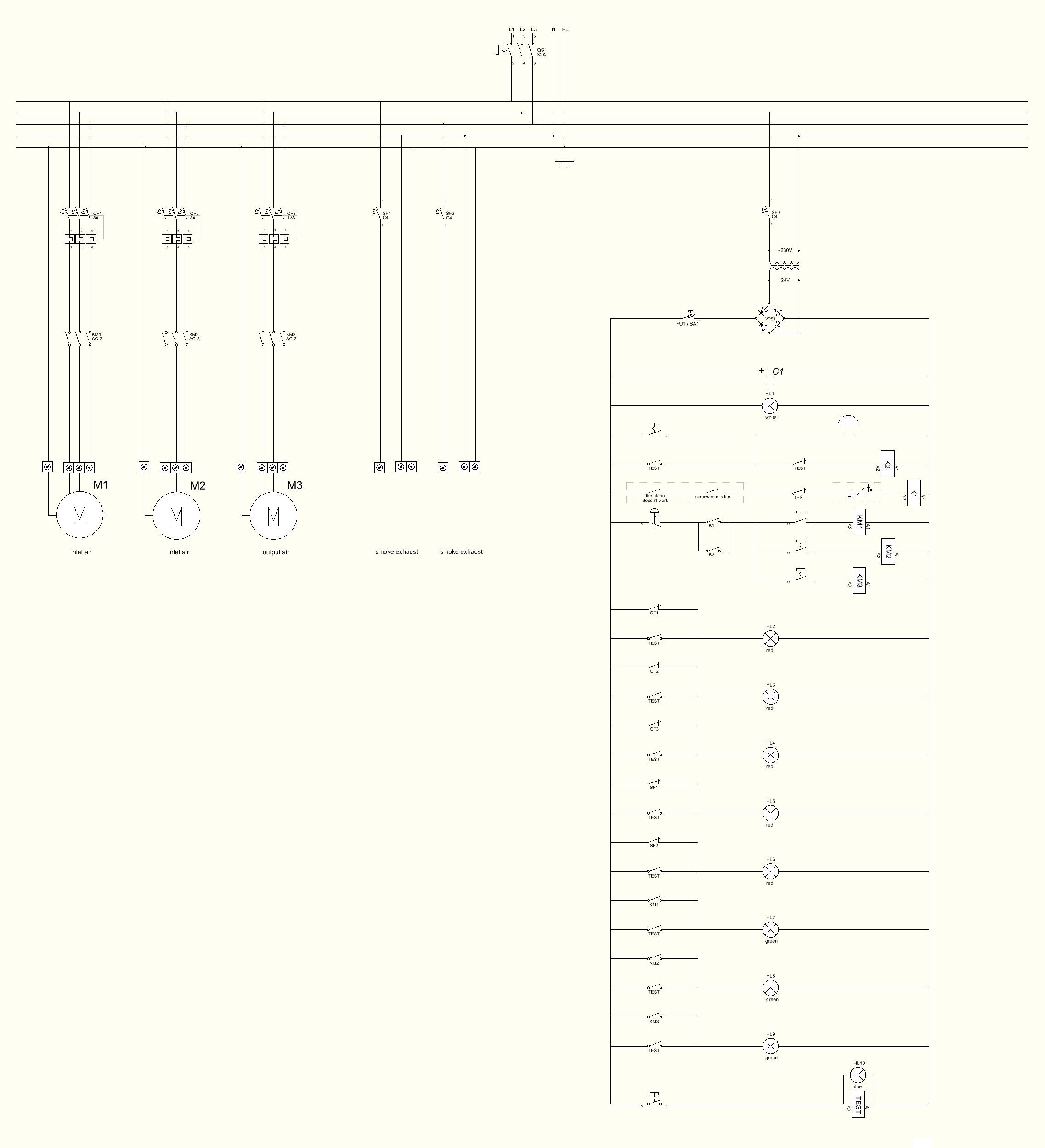 Filewiring Diagram Of Air Fans Control Centre Wikimedia Commons L1 L2 Wiring