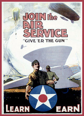 Us army recruiting poster