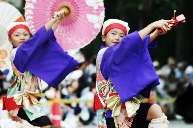 Yosakoi performers