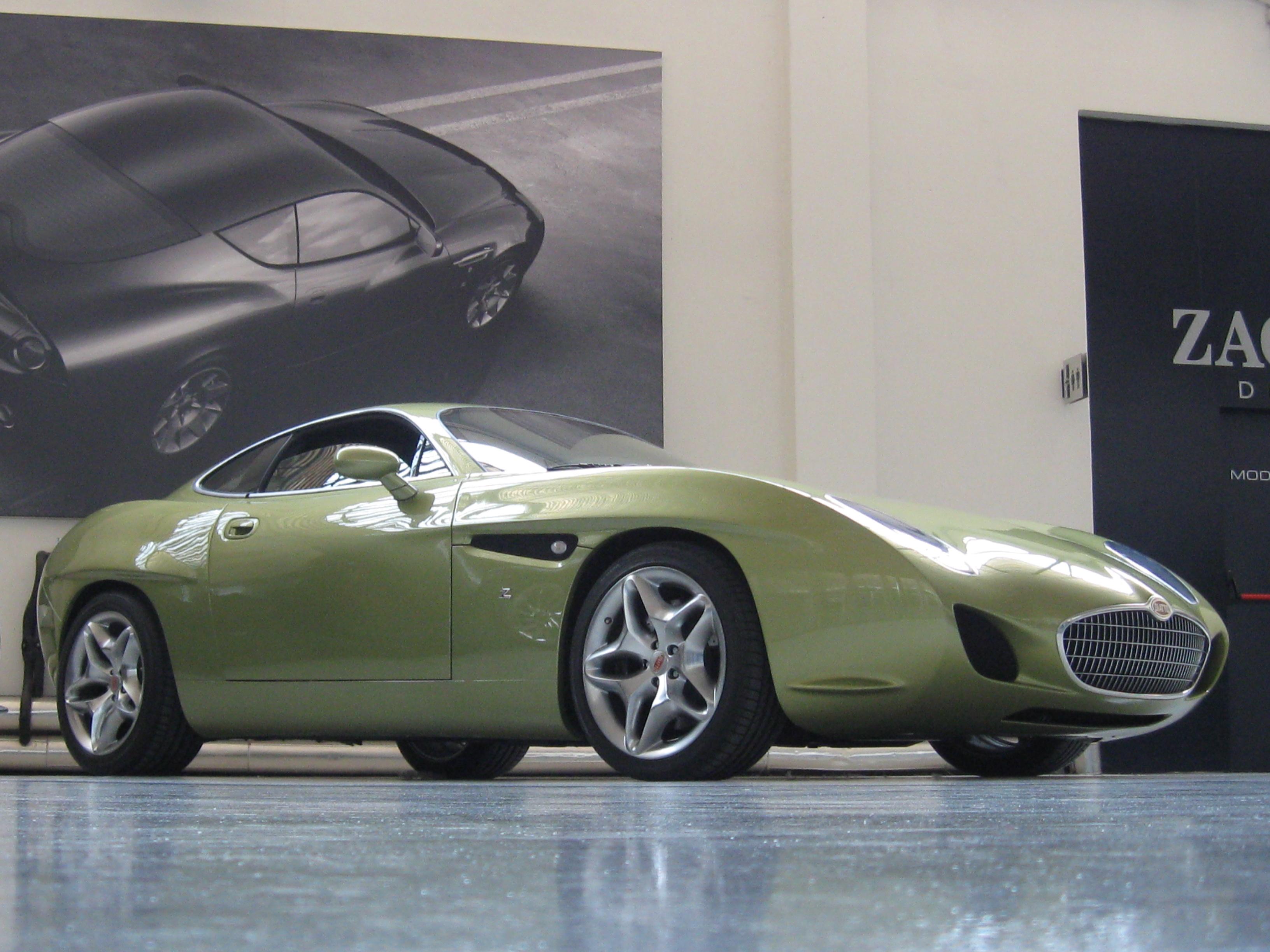 Zagato Car Body Design Car at The Zagato Design