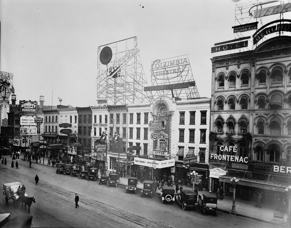 File 00 Block Of Monroe Detroit 1913 Jpg Wikimedia Commons