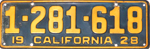 1928 California license plate 1-281-618 fade.jpg