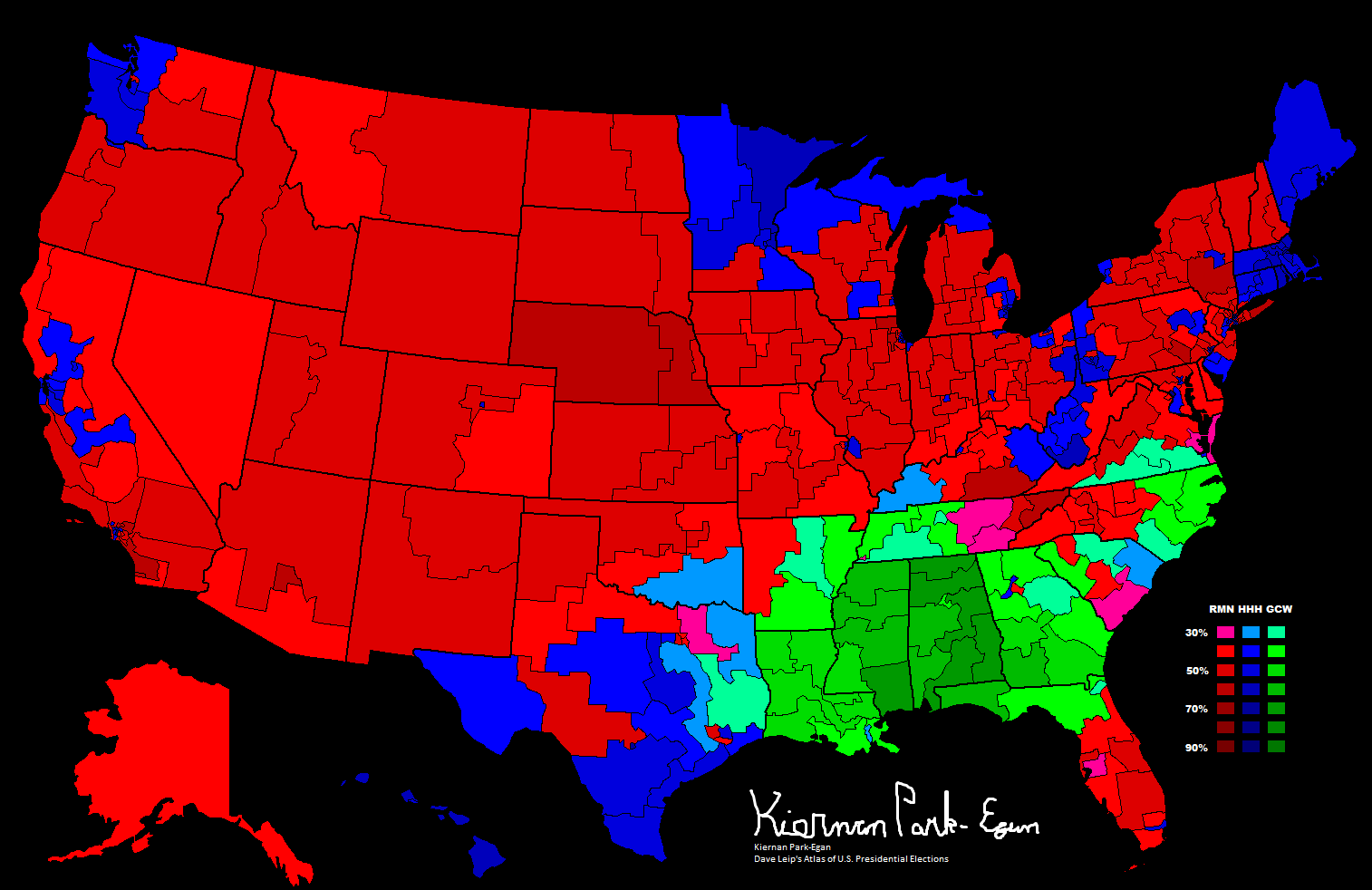 File Presidential Election Results By Congressional District - Us presidential electoral maps by year