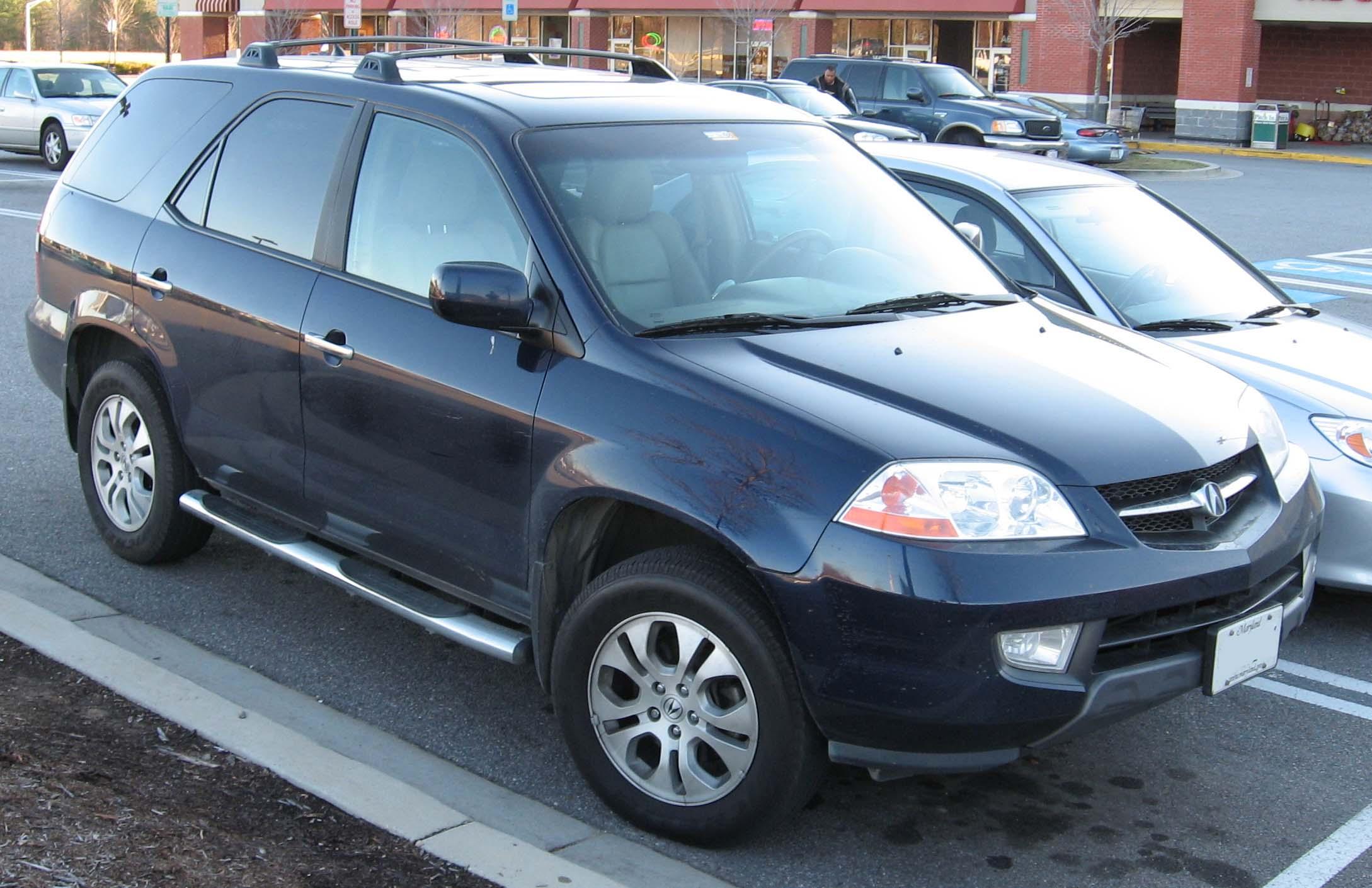 File:2001-03 Acura MDX.jpg - Wikimedia Commons