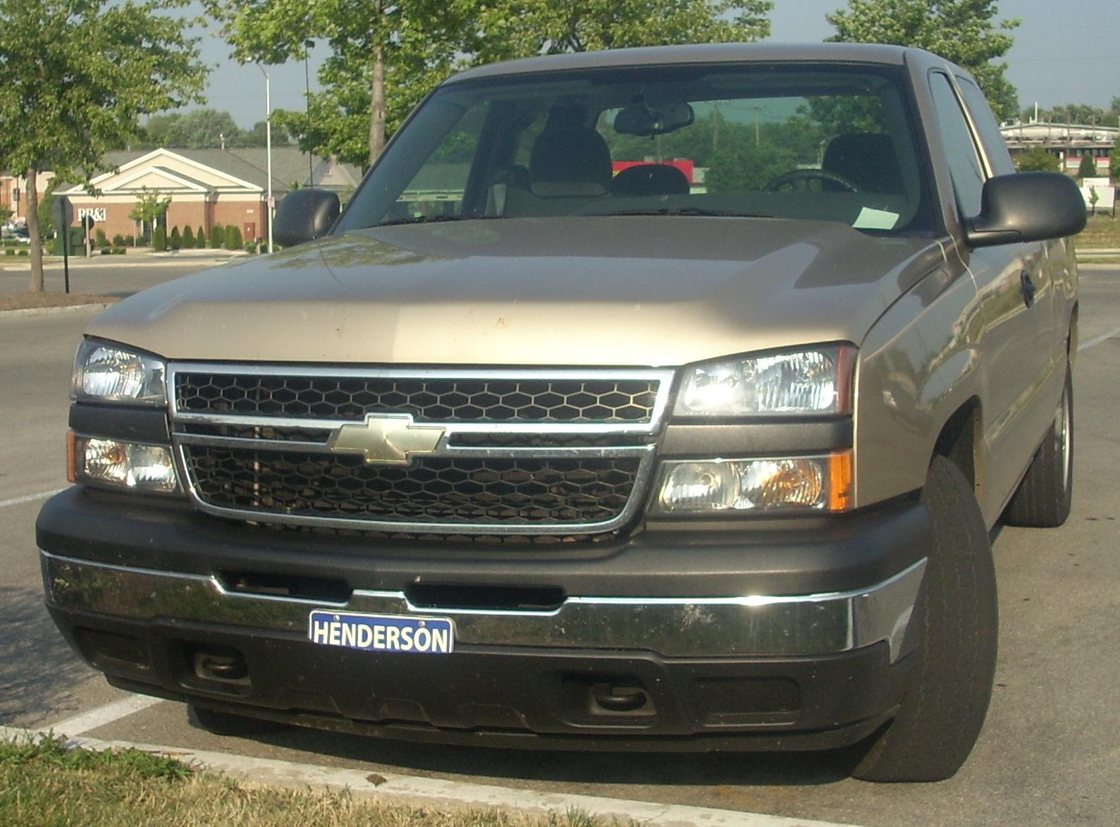 file 2006 chevrolet silverado ext cab jpg wikimedia commons. Cars Review. Best American Auto & Cars Review