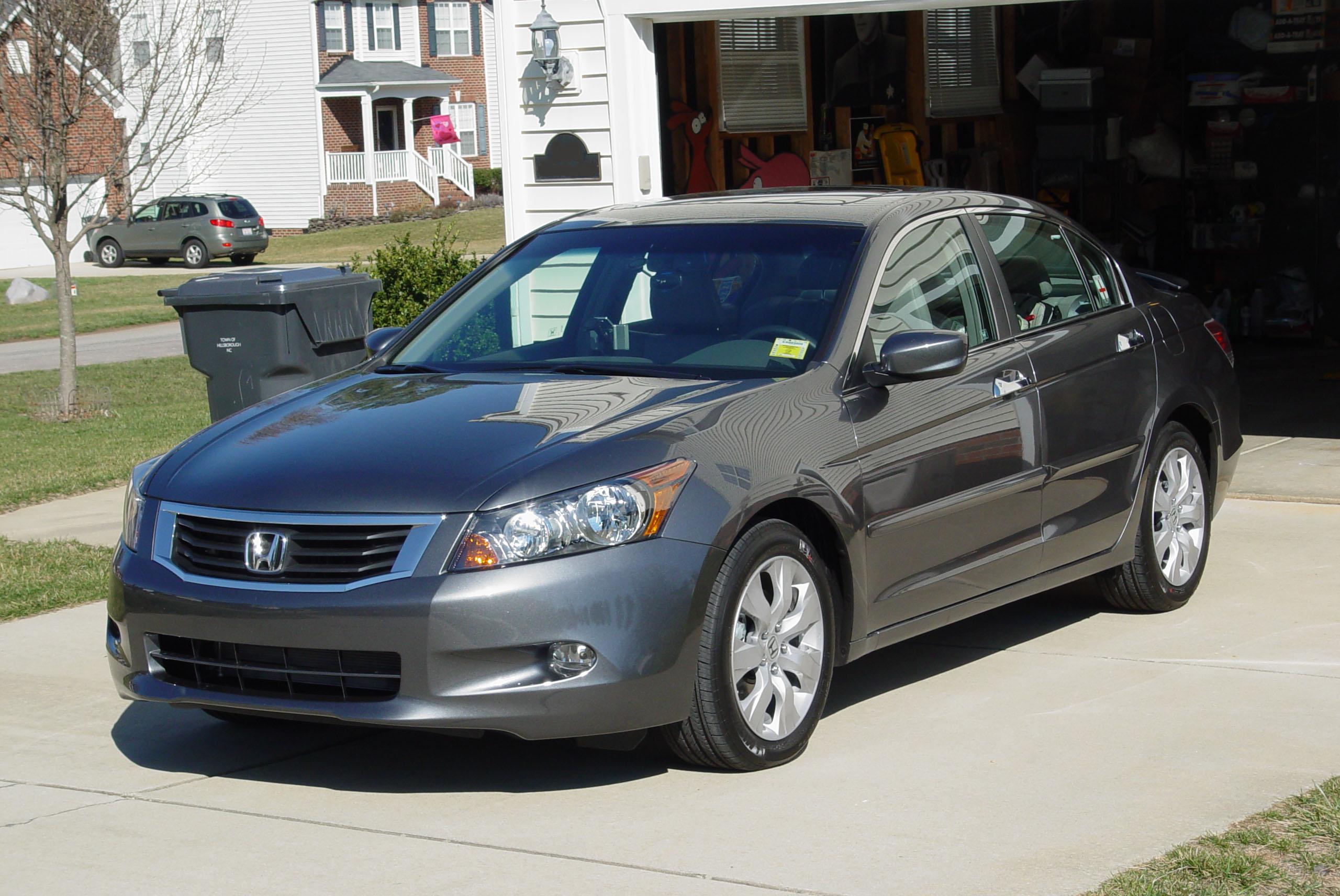 2008 Honda Accord Ex L V6 >> File 2008 Honda Accord Exl V6 Sedan 01 Jpg Wikimedia Commons