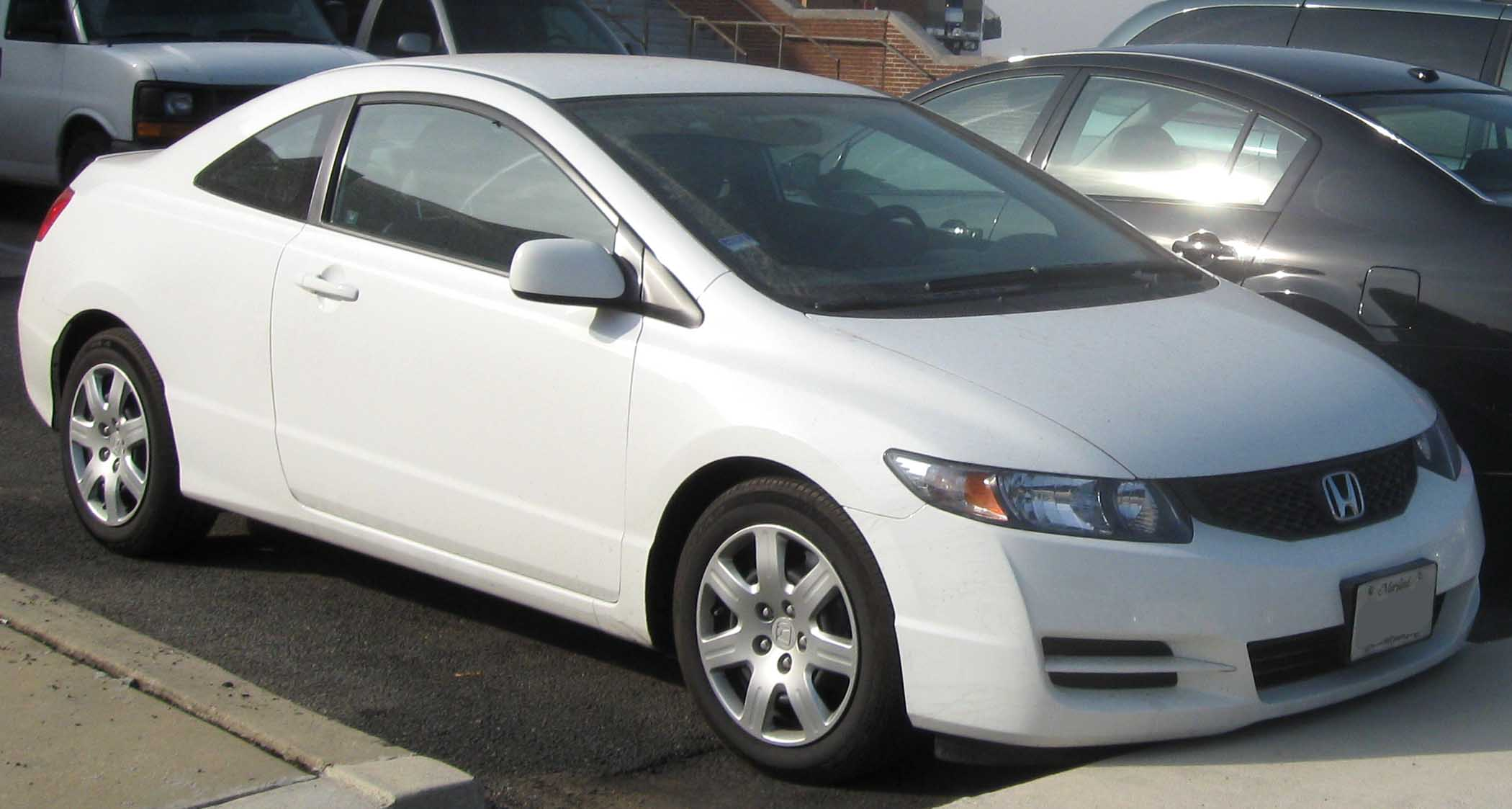 Exceptional File:2009 Honda Civic LX Coupe