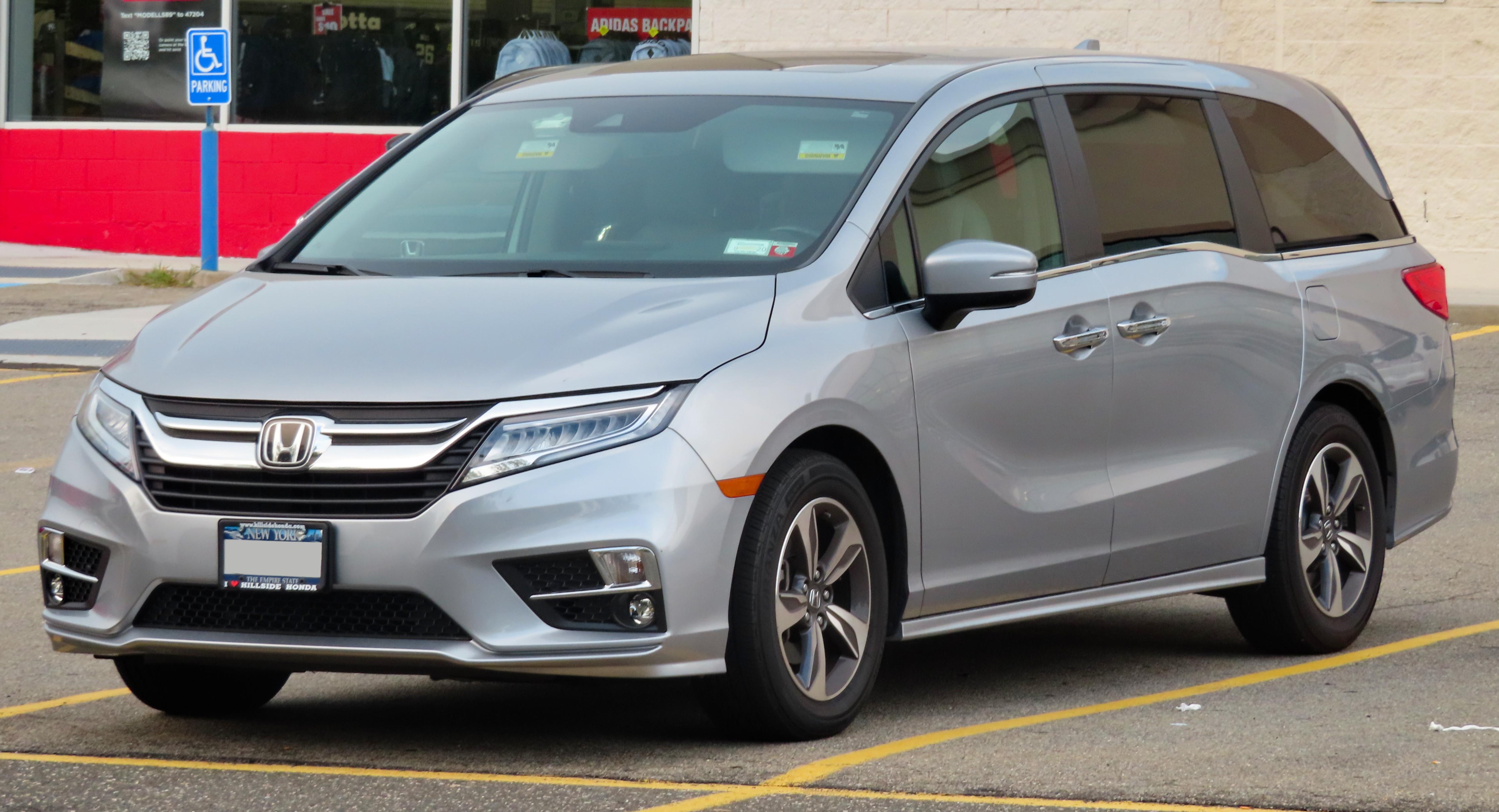 2001 Acura Tl 3 2 >> Honda Odyssey North America Wikipedia