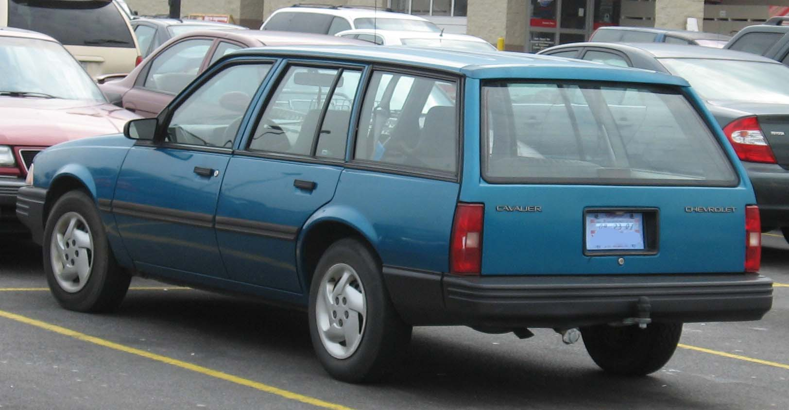 File 91 94 Chevrolet Cavalier Wagon Jpg Wikimedia Commons