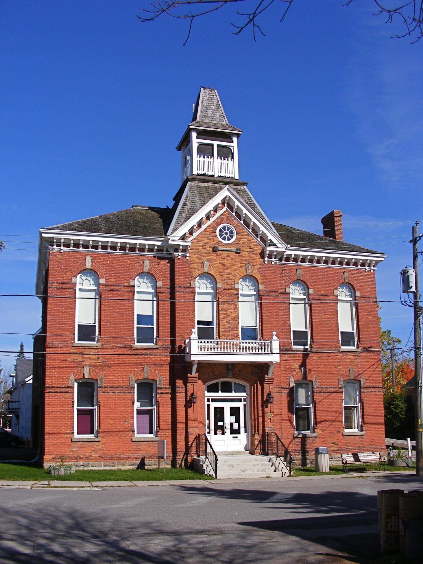 File Acton Ontario Town Hall Jpg Wikimedia Commons