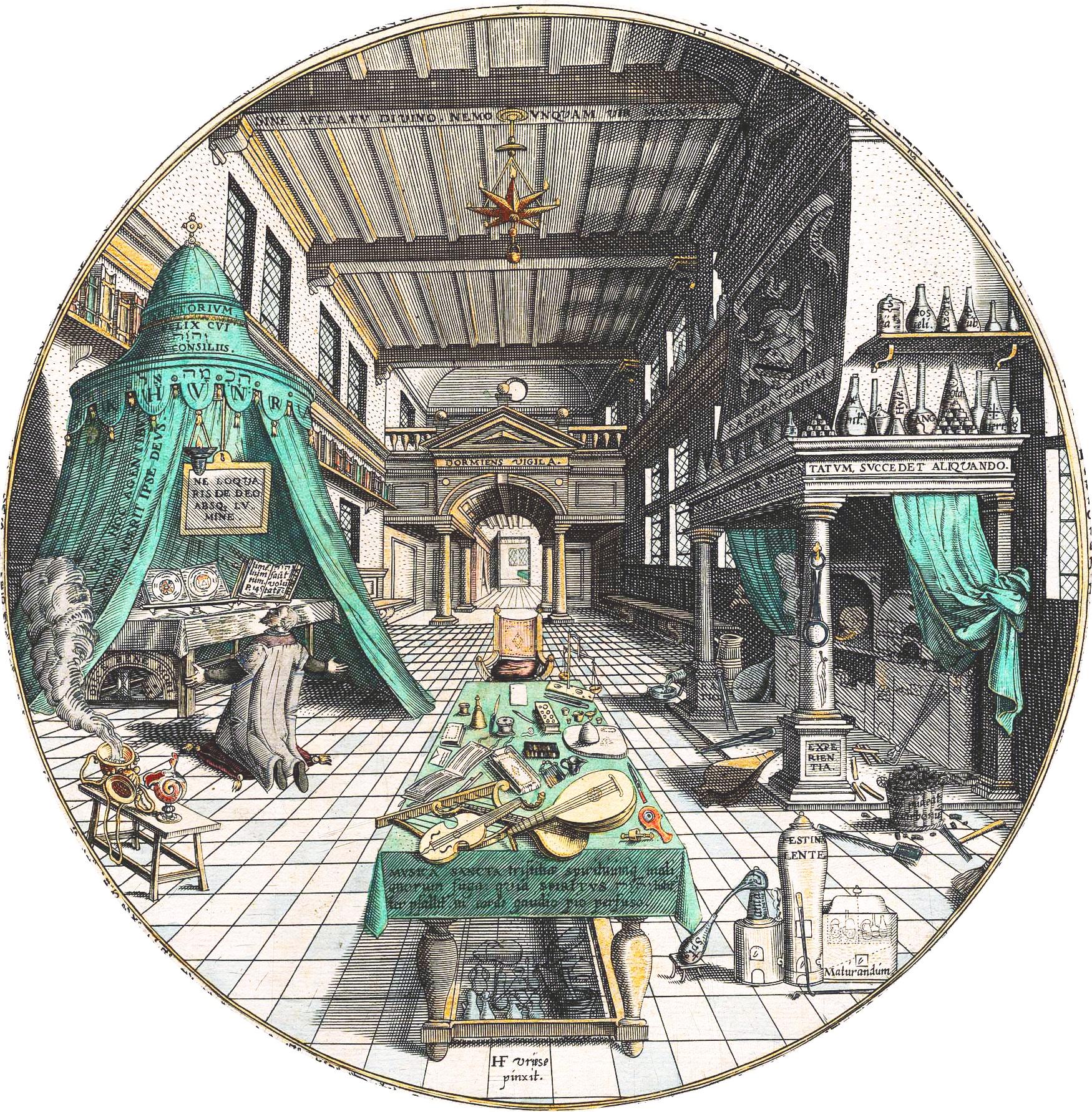 File:Alchemist's Laboratory, Heinrich Khunrath, Amphitheatrum sapientiae  aeternae, 1595 c.jpg - Wikimedia Commons