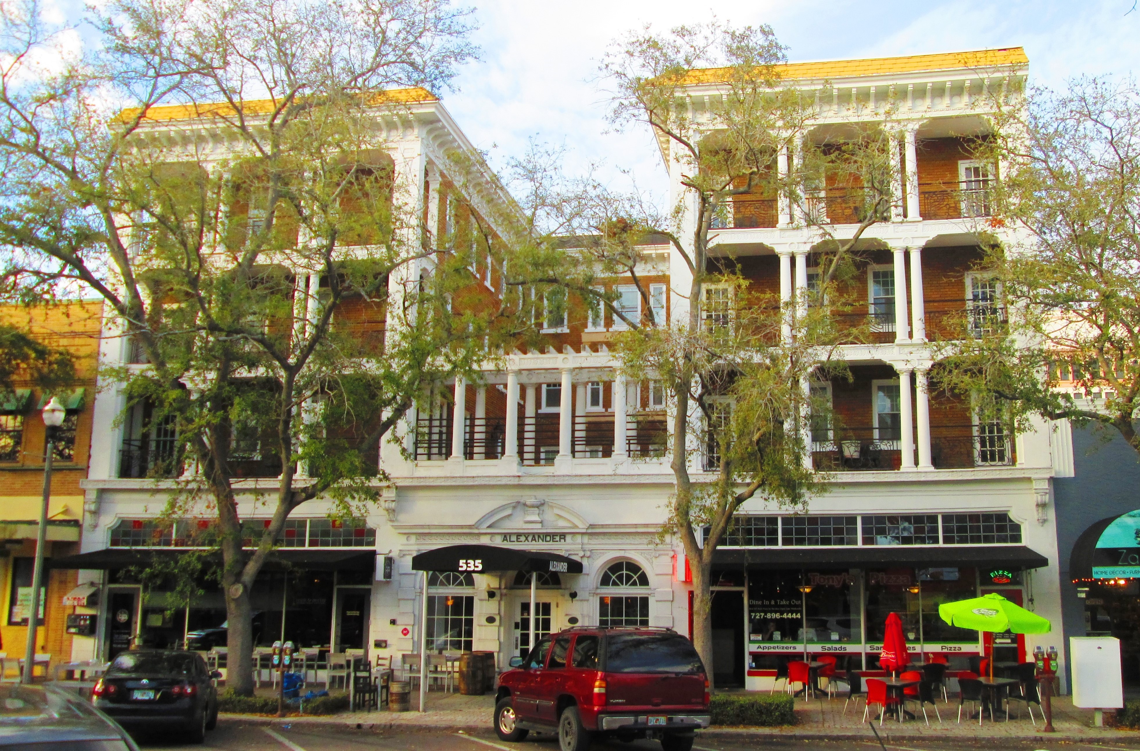 Alexander Hotel 535 Central Avenue St Petersburg Florida Jpg
