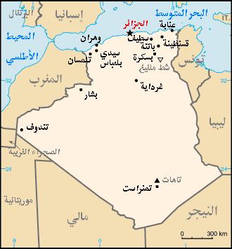 السعودية تتعاقد على 124 اف 18 - صفحة 2 Algeria_map_Arabic