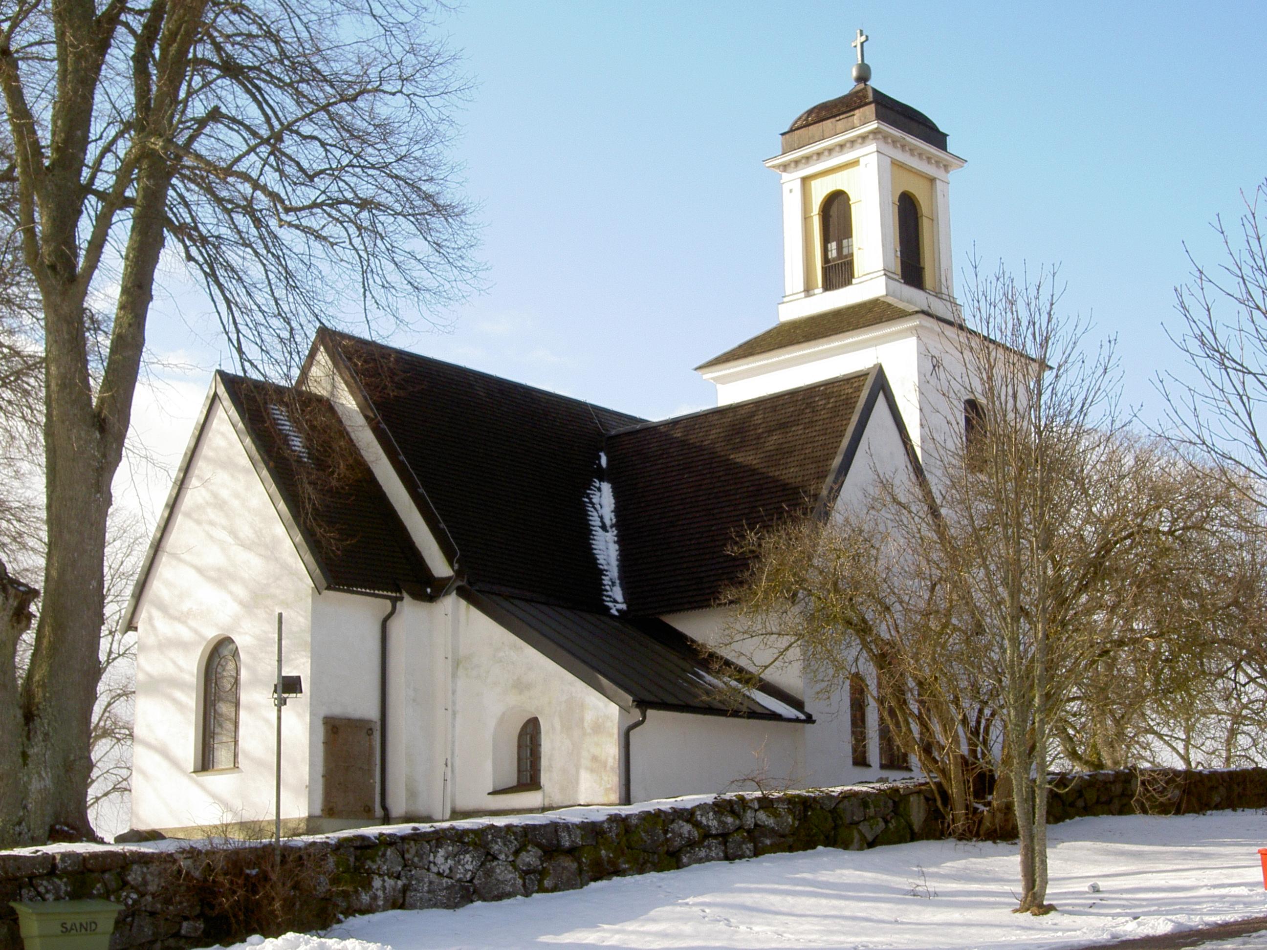 Bild av Alsike kyrka