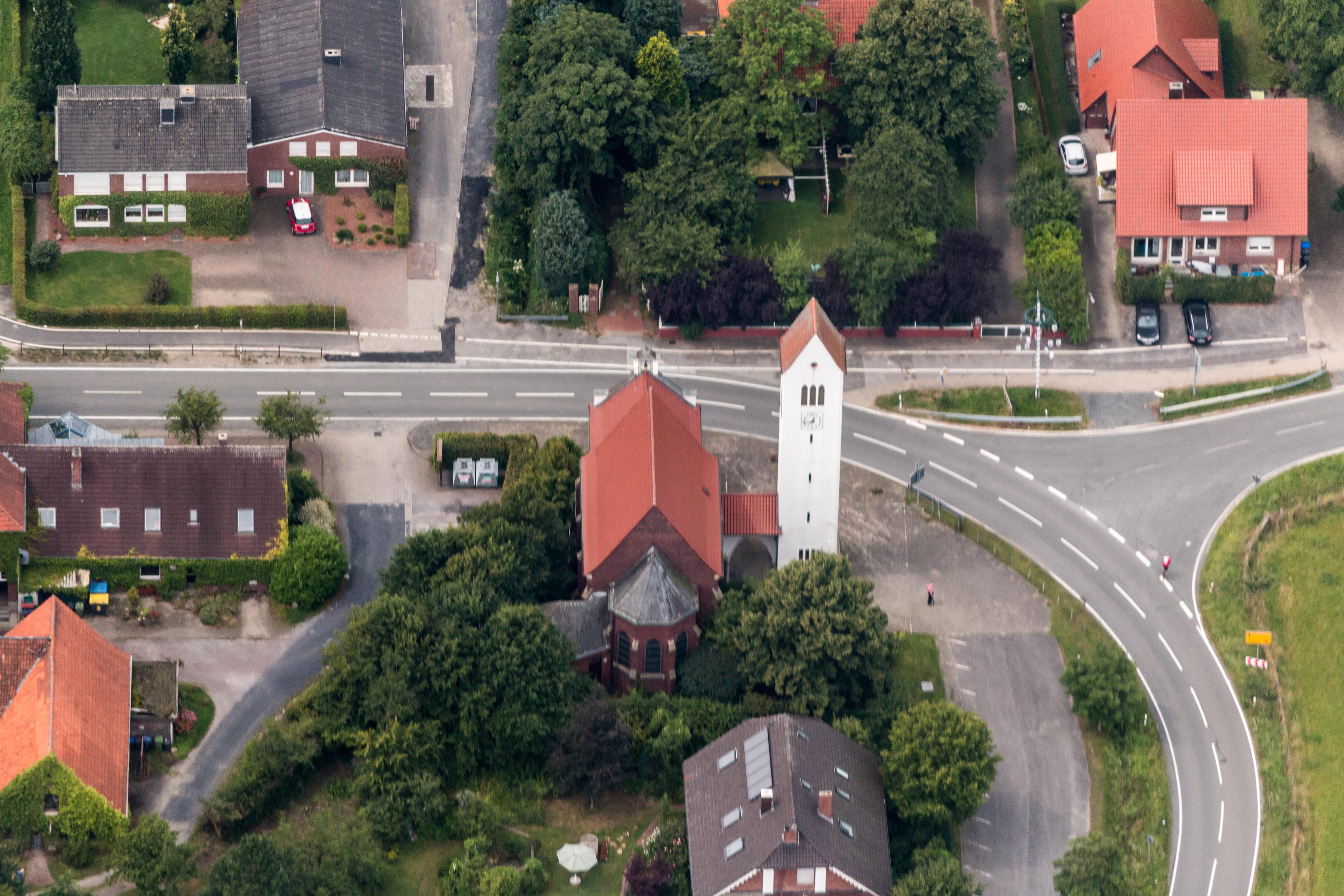 File Altenberge Hansell St Johannes Nepomuk Kirche 2014