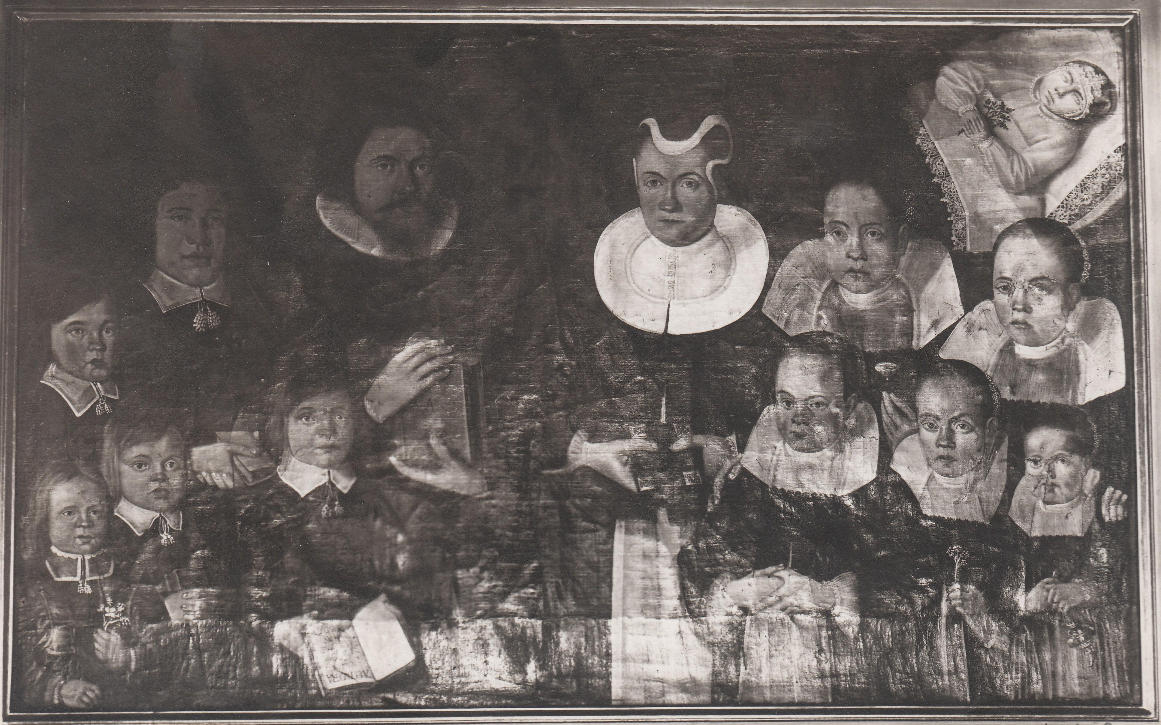File:Anders Roaldsen (1606 - 1662) og hans kone Lucie Eriksdatter Blix (
