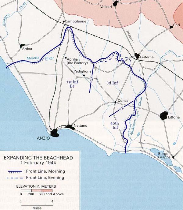 Battle Of Anzio Wikiwand