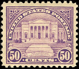 Arlington Amphitheater 1922 issue