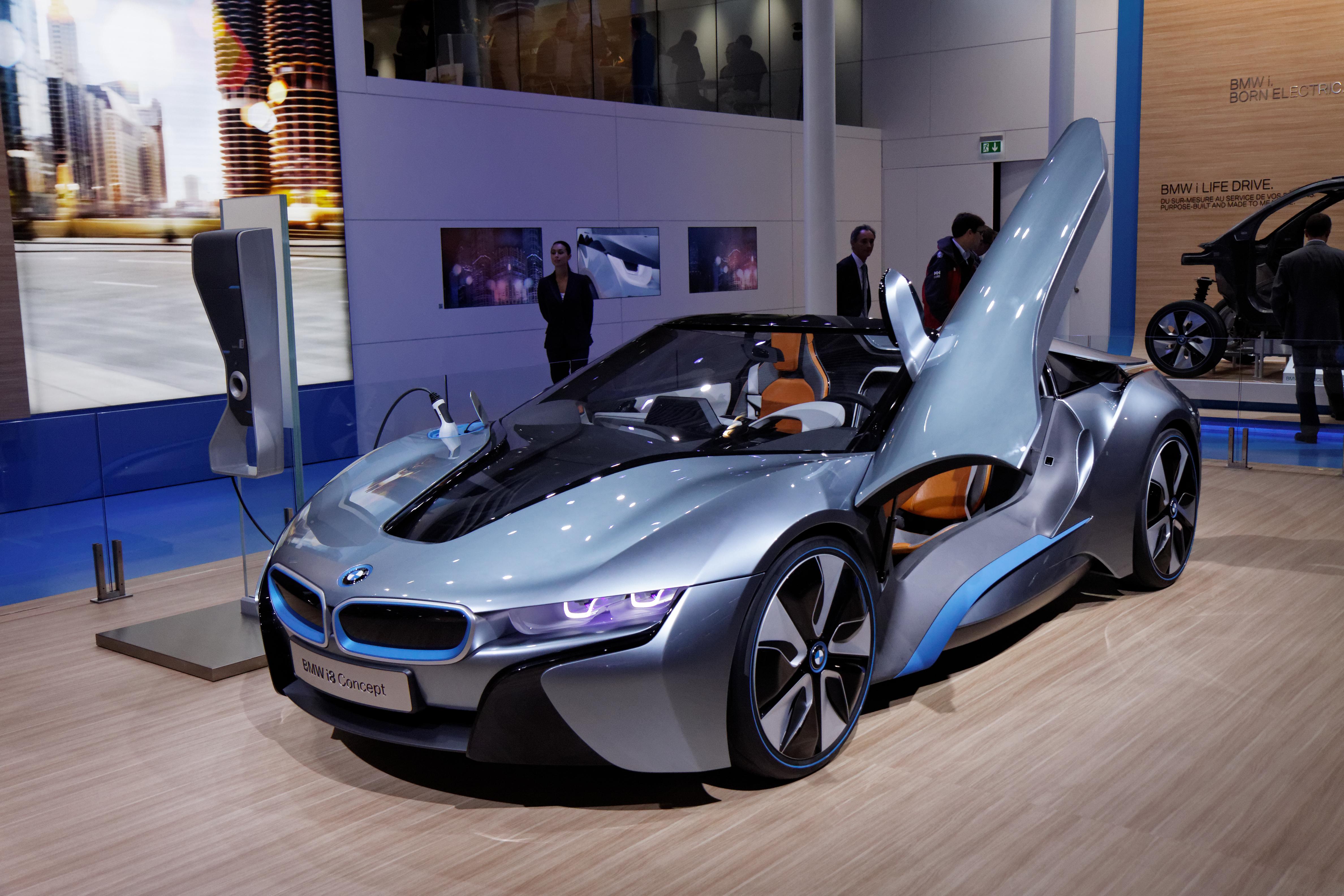 File Bmw I8 Concept Mondial De L Automobile De Paris 2012 001
