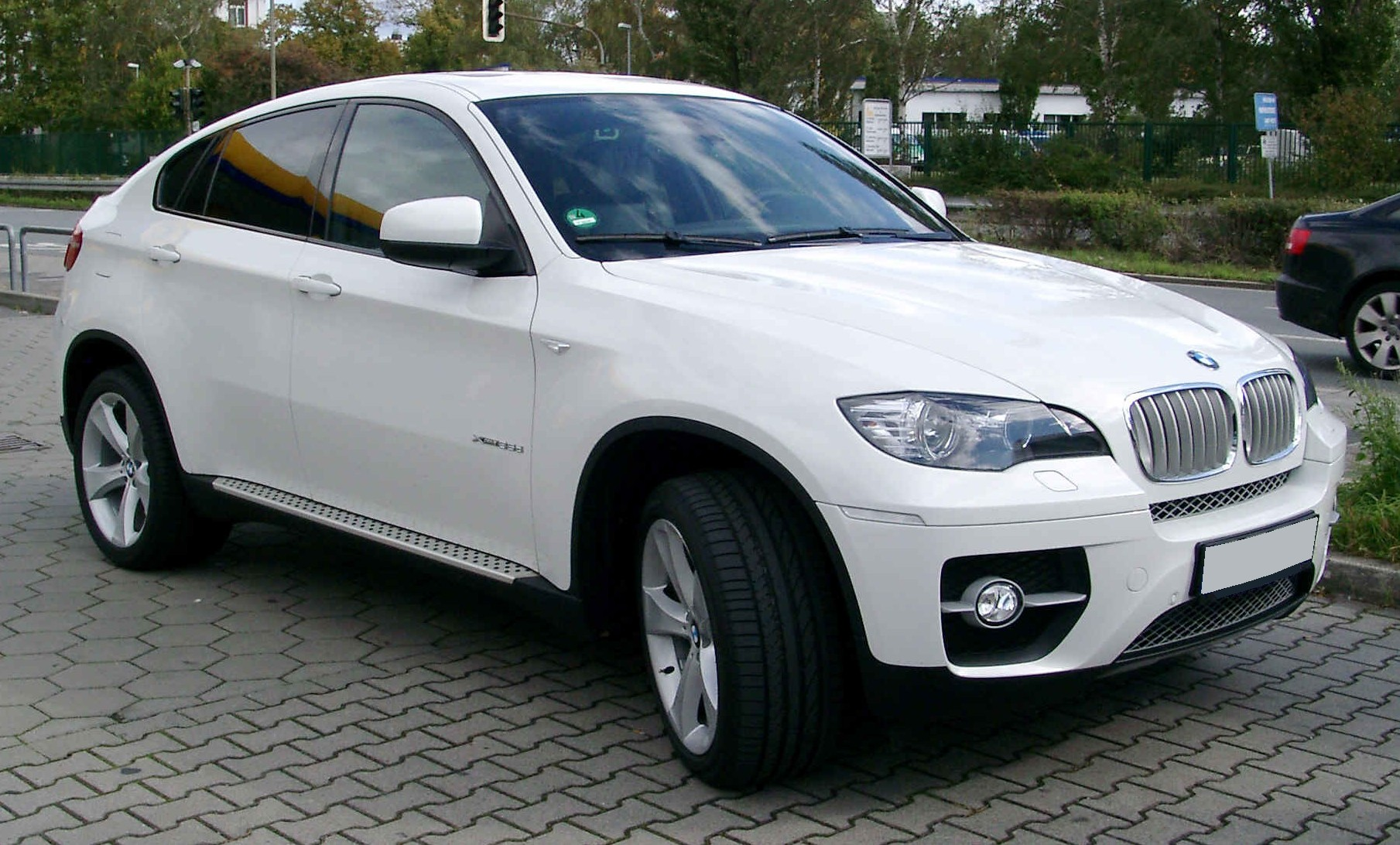 File Bmw X6 Front 20081002 Jpg Wikimedia Commons