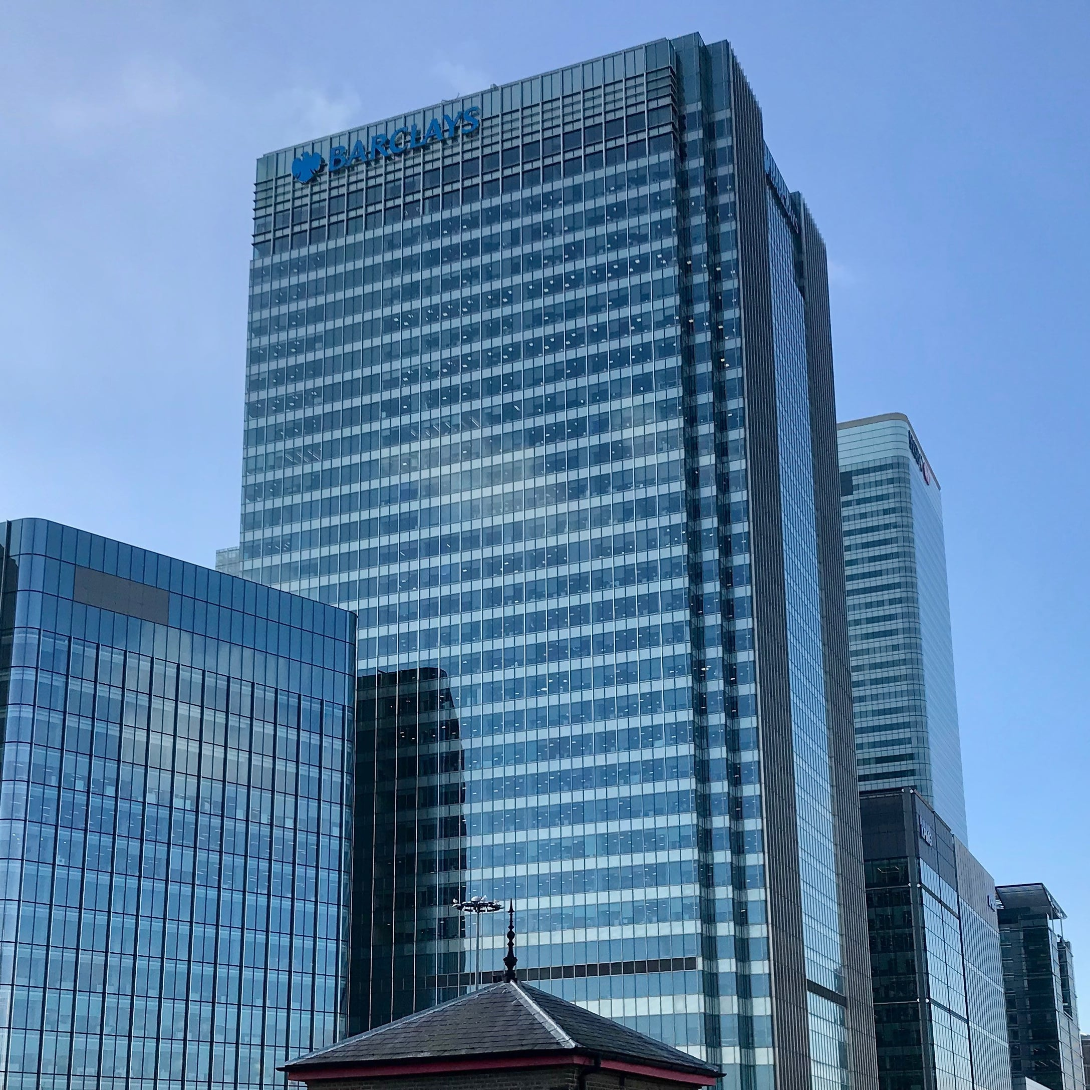 barclays investment bank canary wharf