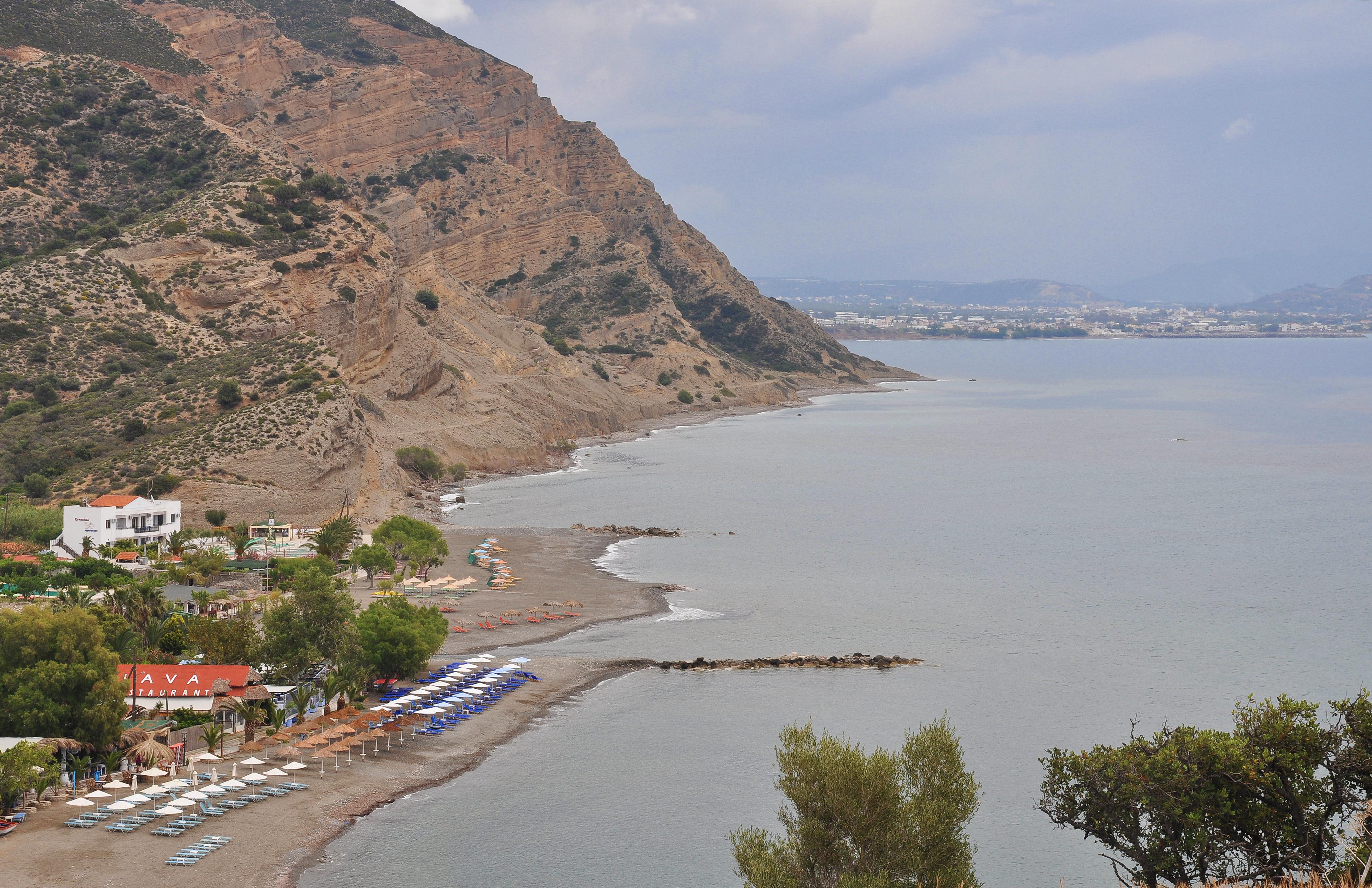 FileBeaches Of Agia Galini Crete Greece 001
