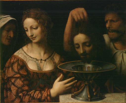 Salome with the Head of John the Baptist (Luini) - Wikipedia
