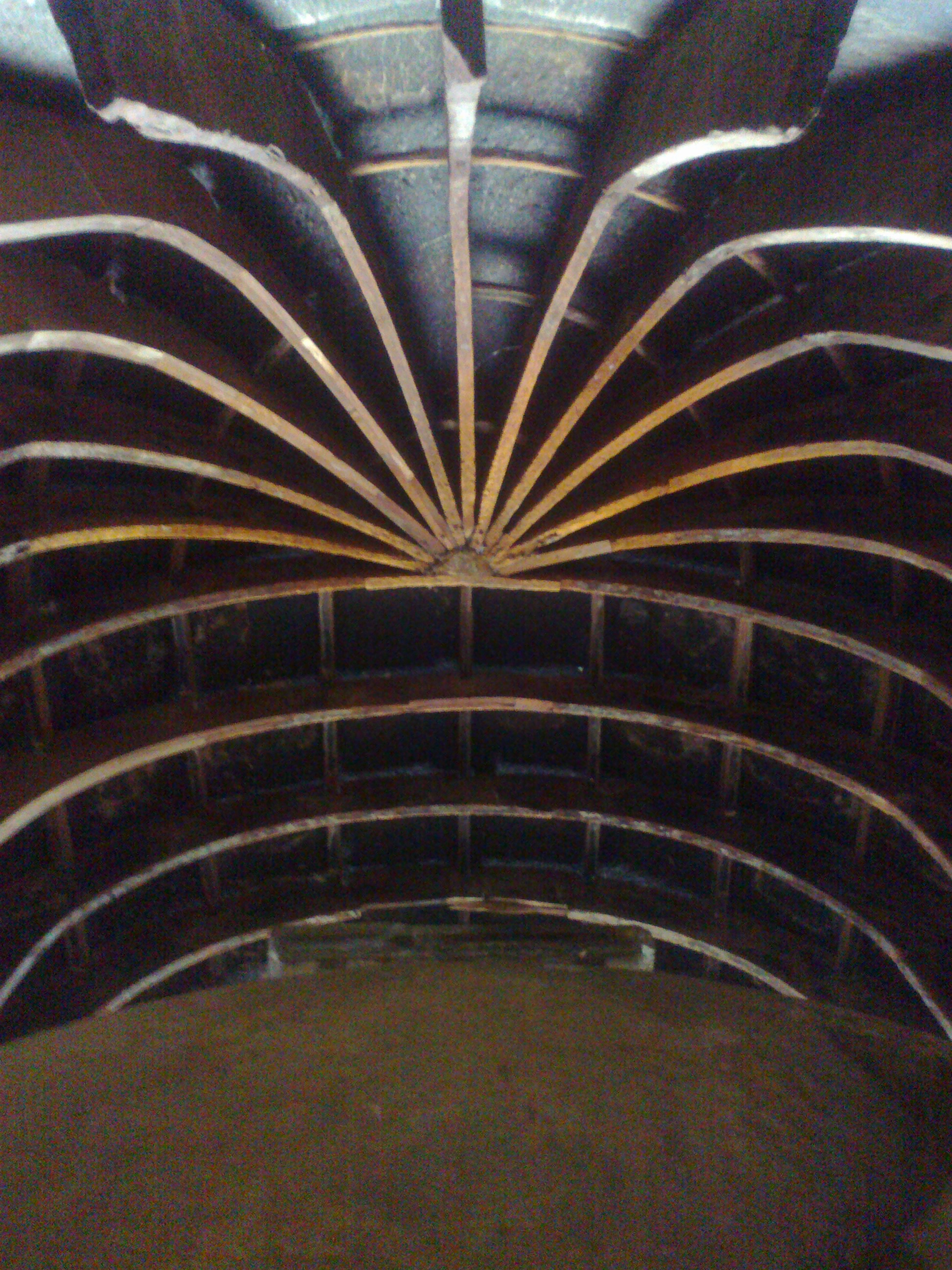 Wooden Ceiling in Main Chaitygruha at Bhaja Caves