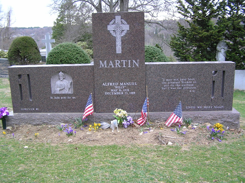 billy martin grave - photo #6