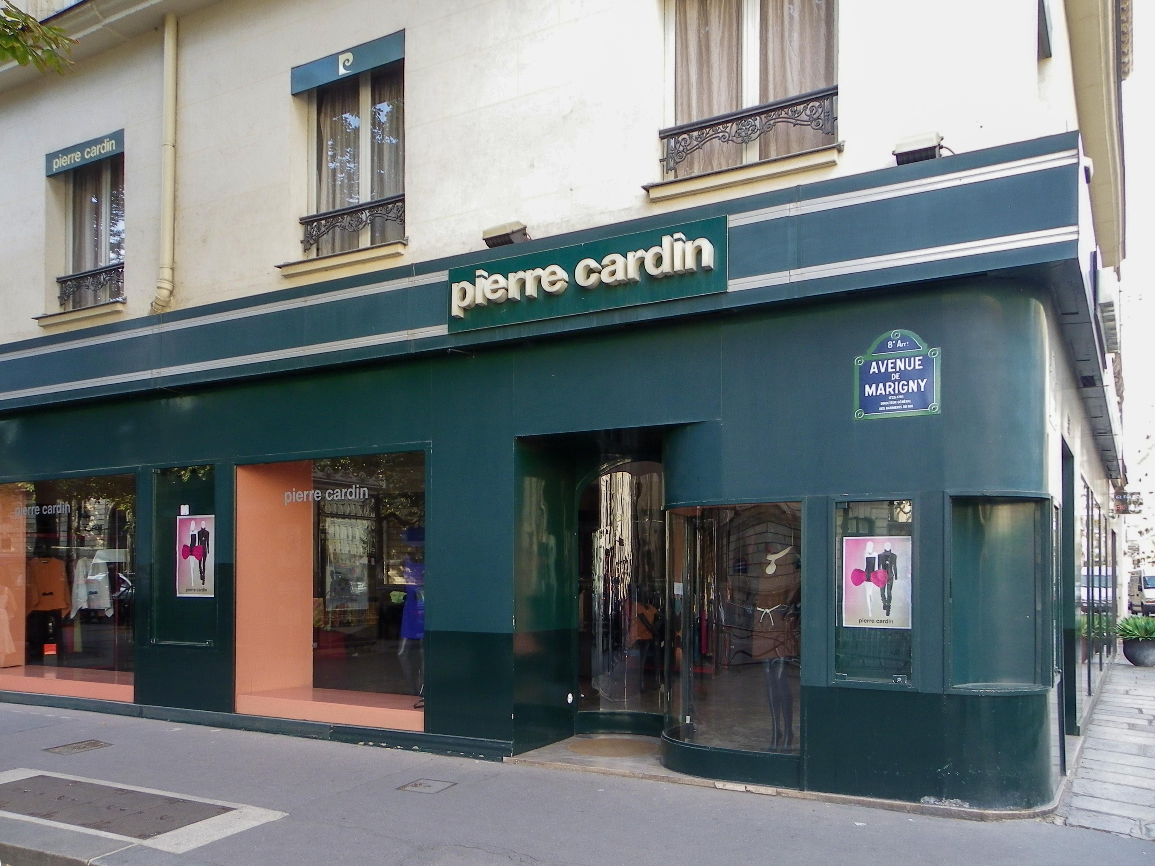 File boutique pierre cardin l 39 angle de l 39 avenue de marigny et de la - Magasin de pierre paris ...