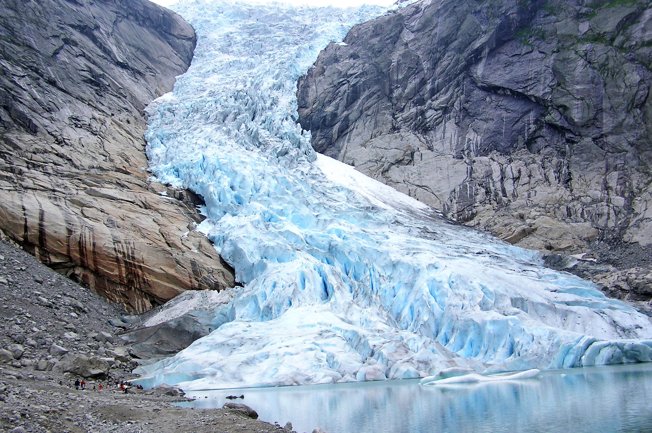 Depiction of Glaciar