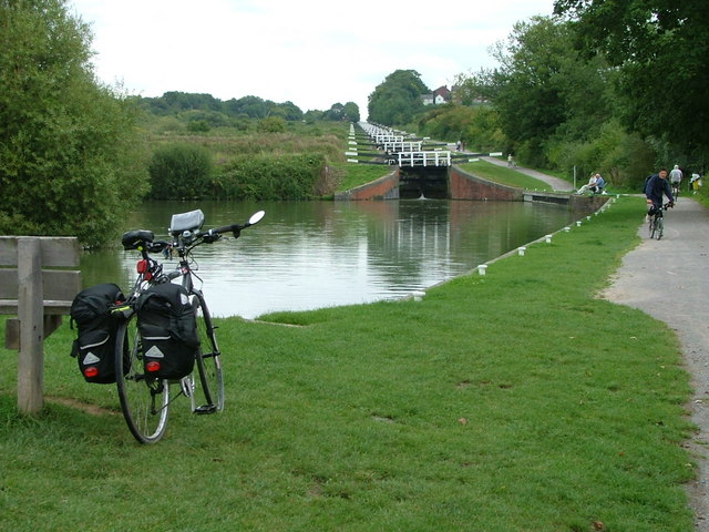 Caen Hill Locks - geograph.org.uk - 1733444