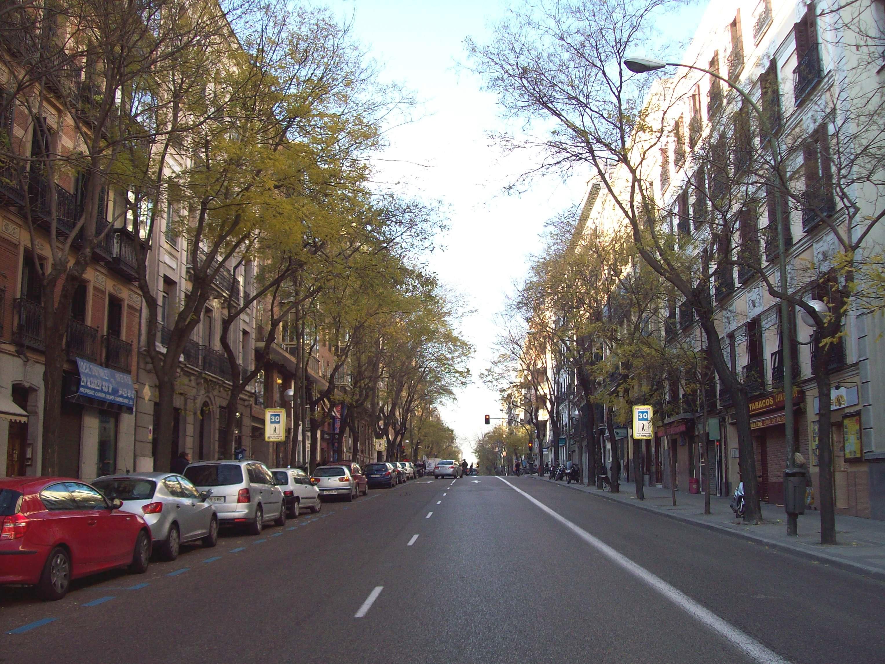 Filecalle De Ferraz Madrid 01jpg Wikimedia Commons