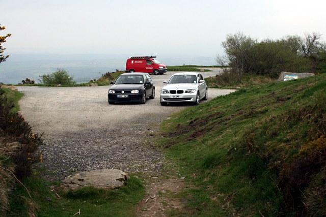 Car Park halfway up Kit Hill - geograph.org.uk - 1265968