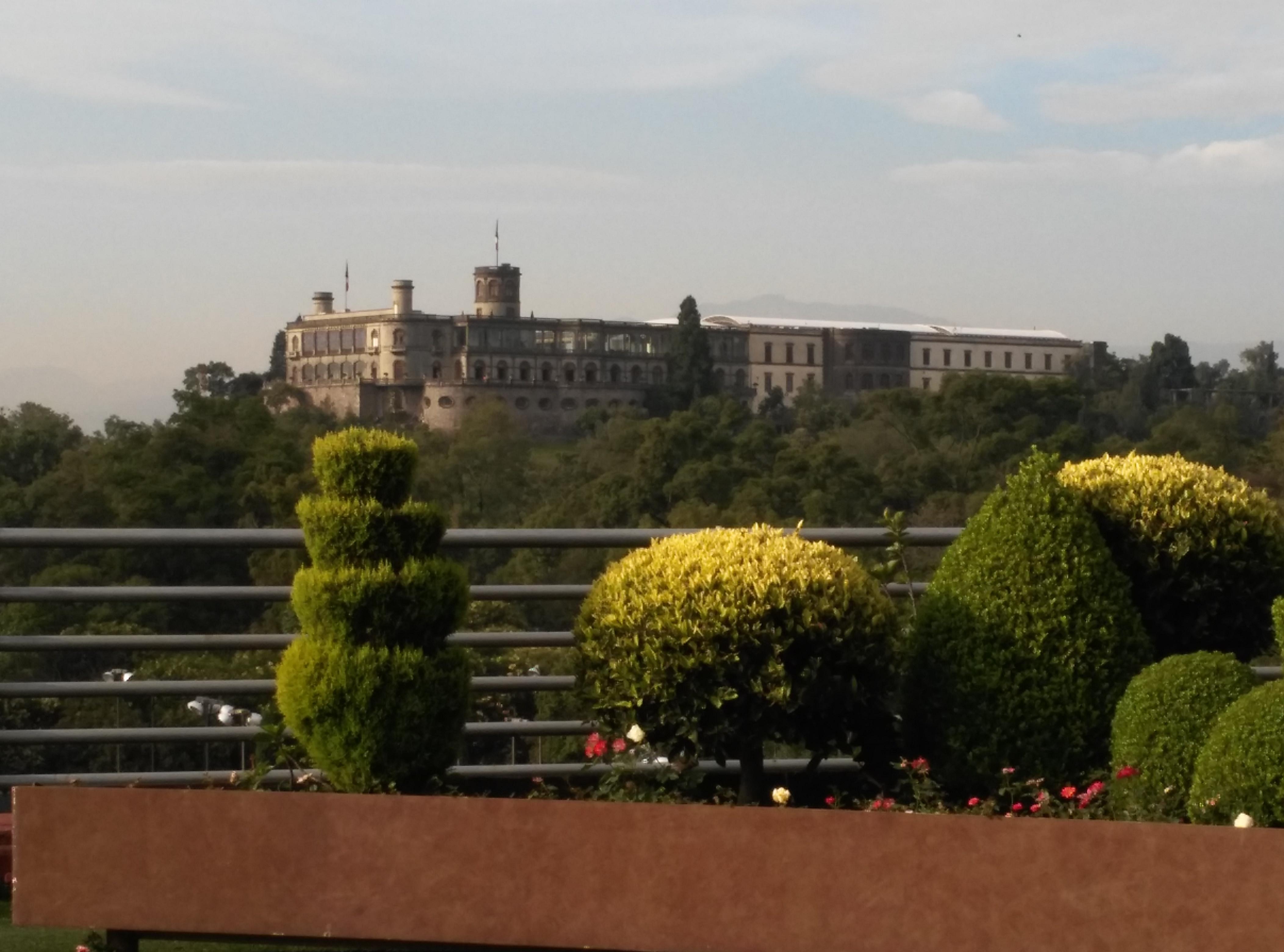 Depiction of Castillo de Chapultepec