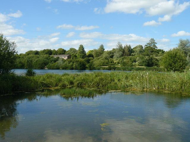 Charlton - Anton Lakes - geograph.org.uk - 890085
